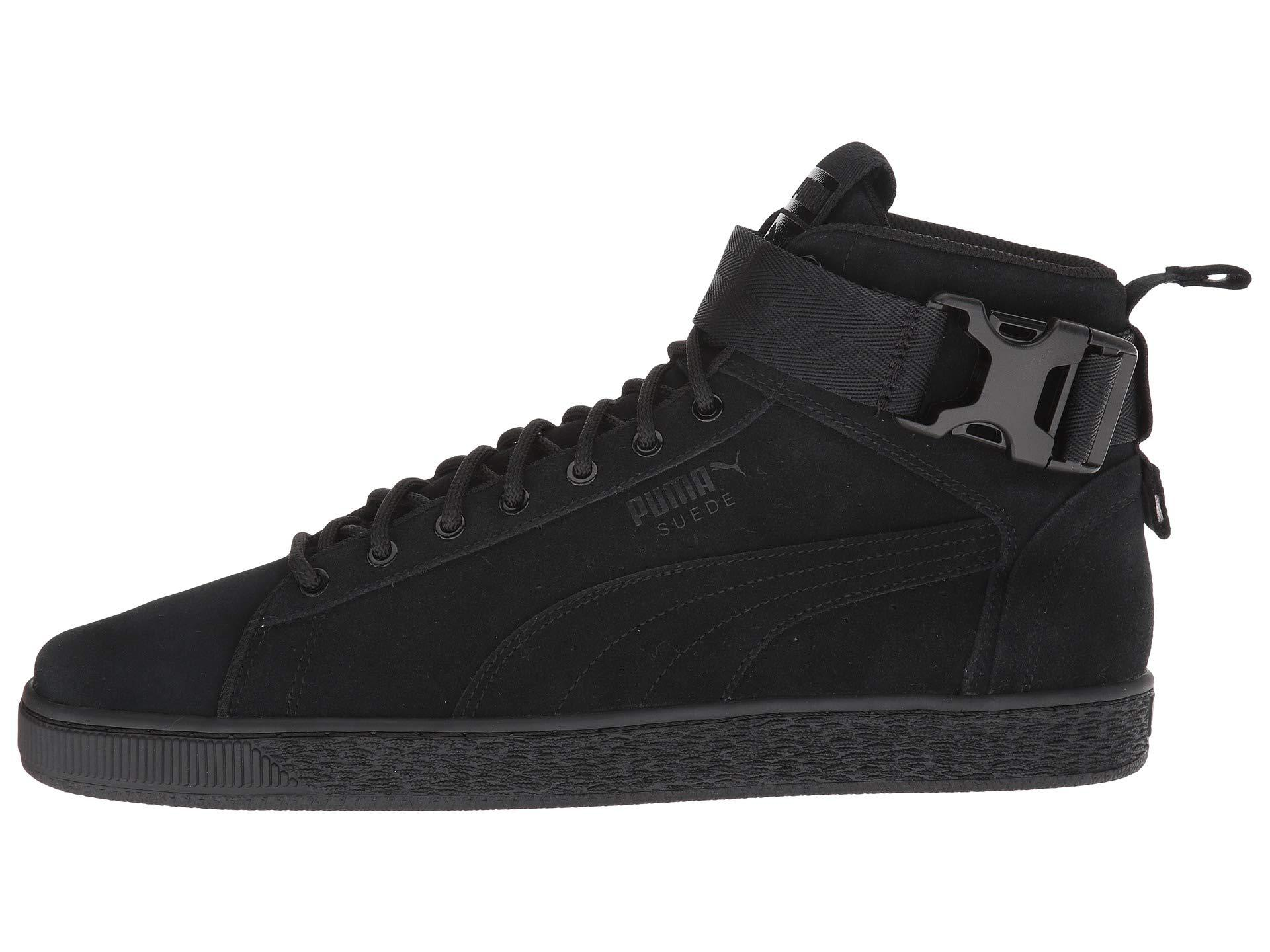 PUMA S Suede Classic Mid Buckle in