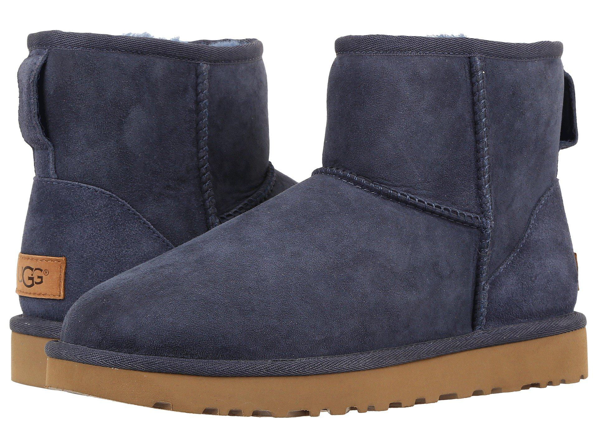 debe3365e01 Lyst - UGG Classic Mini Ii (boadacious Pink) Women's Boots in Blue ...