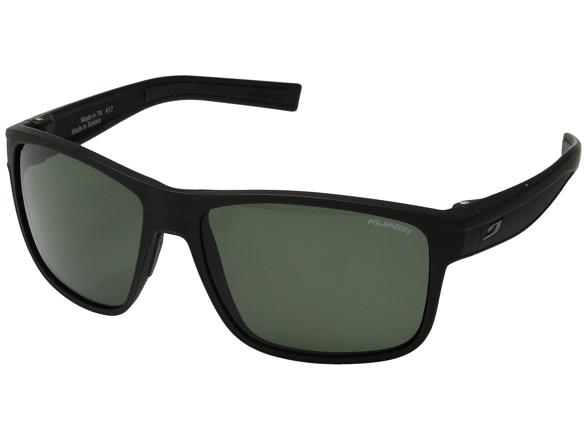 edde62a433 Julbo Eyewear. Men s Renegade (matte Black black) Athletic Performance Sport  Sunglasses