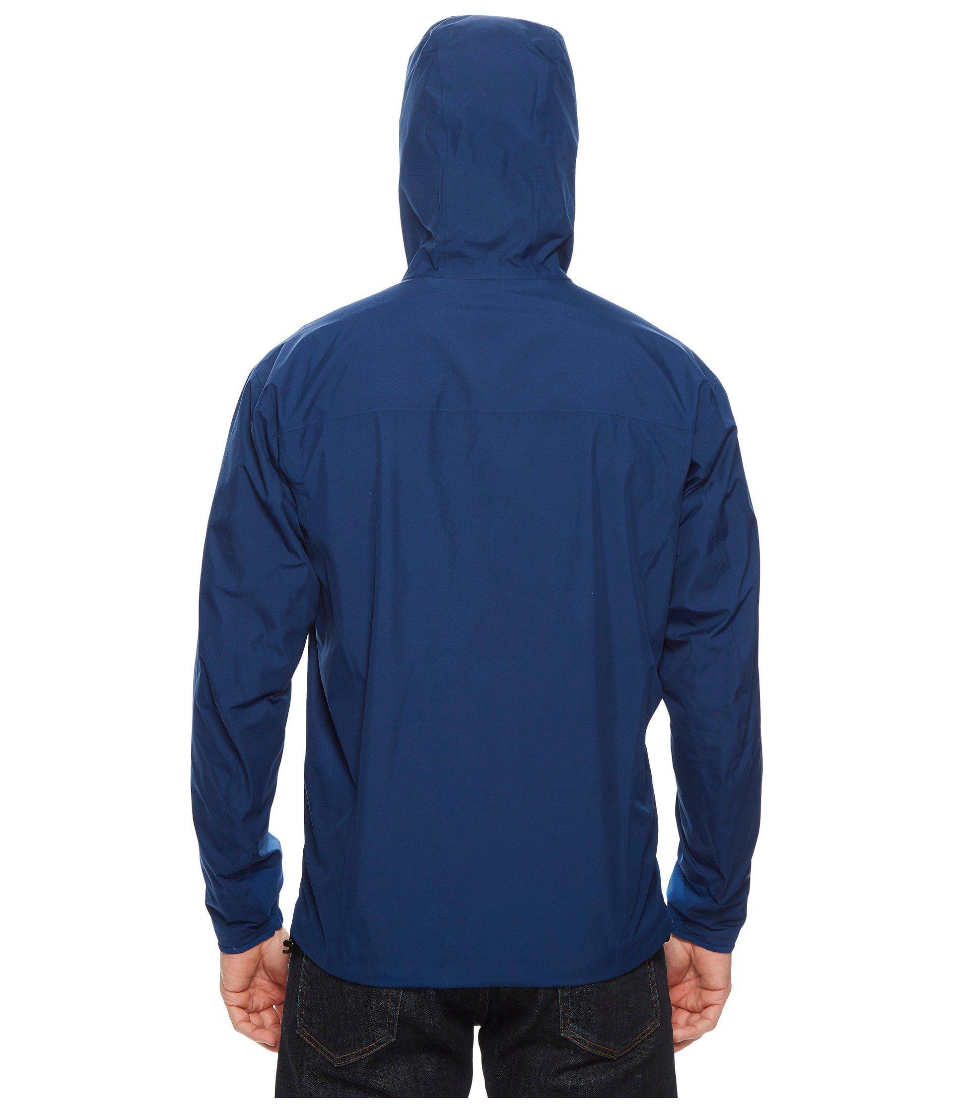 c4fb5ee3ea Arc'teryx Solano Jacket (gwaii) Men's Coat in Blue for Men - Lyst