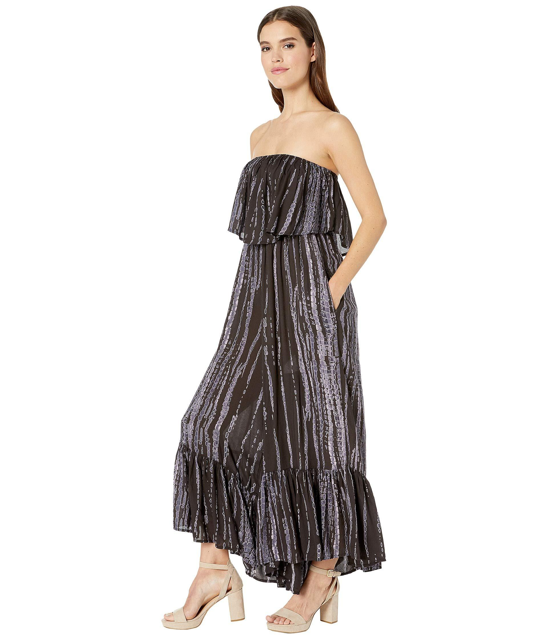 11719fe9a72 Lyst - Free People Summer Vibes Tube Romper (black) Women s Jumpsuit   Rompers  One Piece in Black