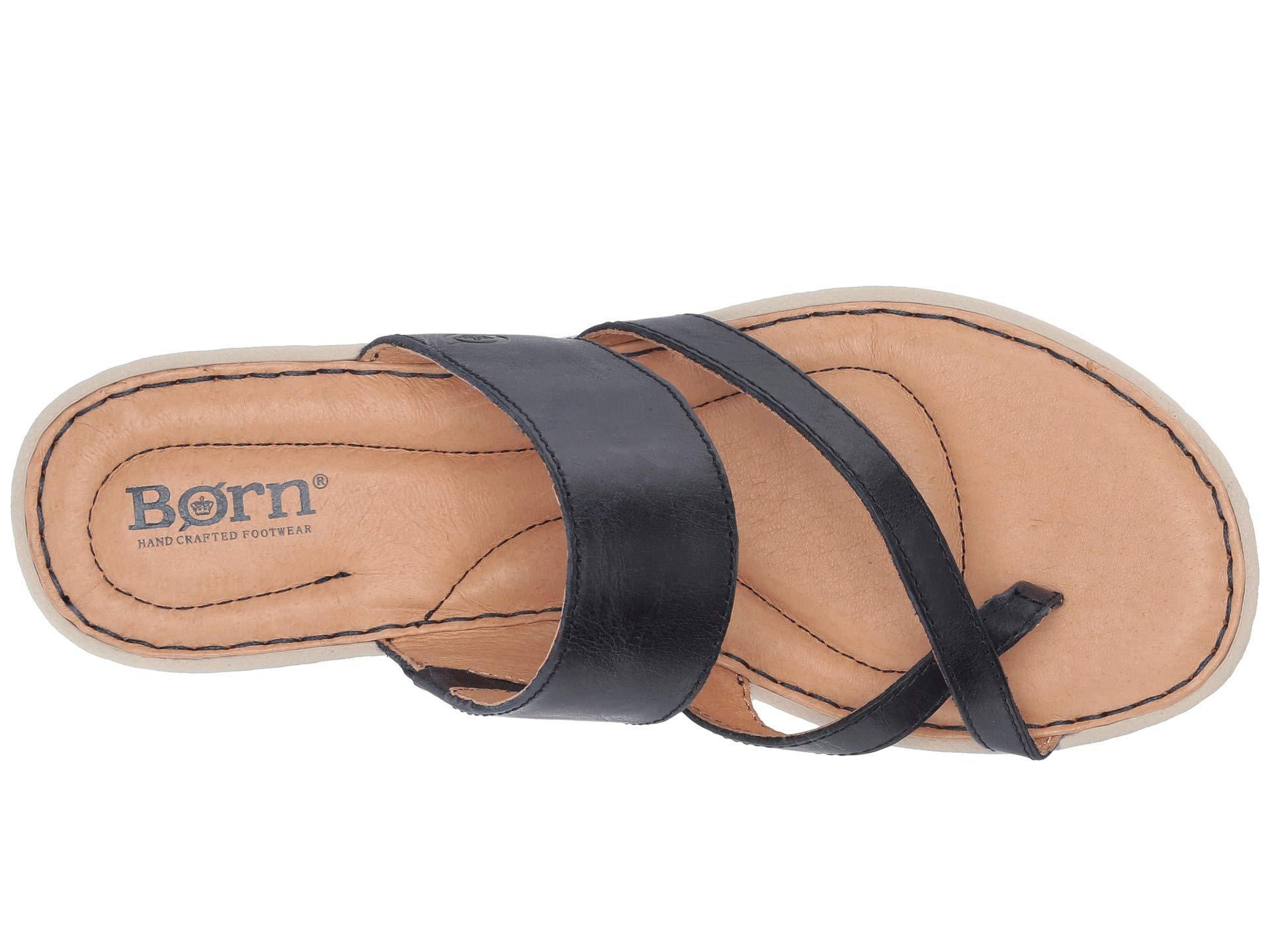 7970a3f866a7 Lyst - Born Siene (black Full Grain Leather) Women s Shoes in Blue