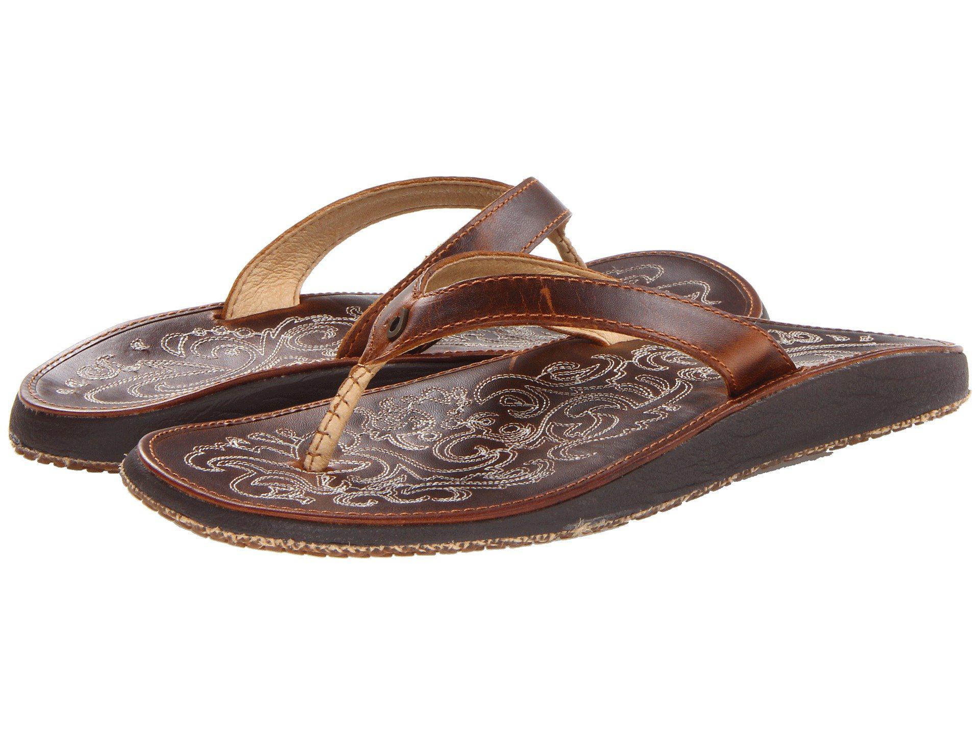 2e48404ff Lyst - Olukai Paniolo (natural natural) Women s Sandals in Natural