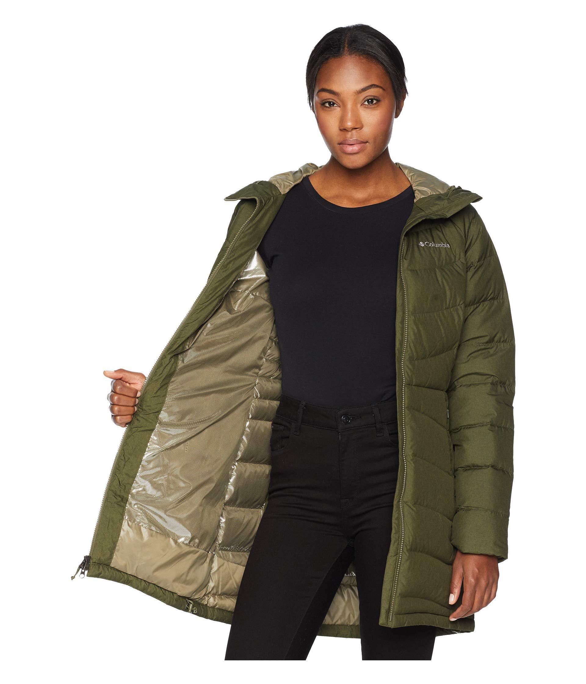 double coupon los angeles hot-selling genuine Women's Green Winter Haventm Mid Jacket (nori Heather) Coat