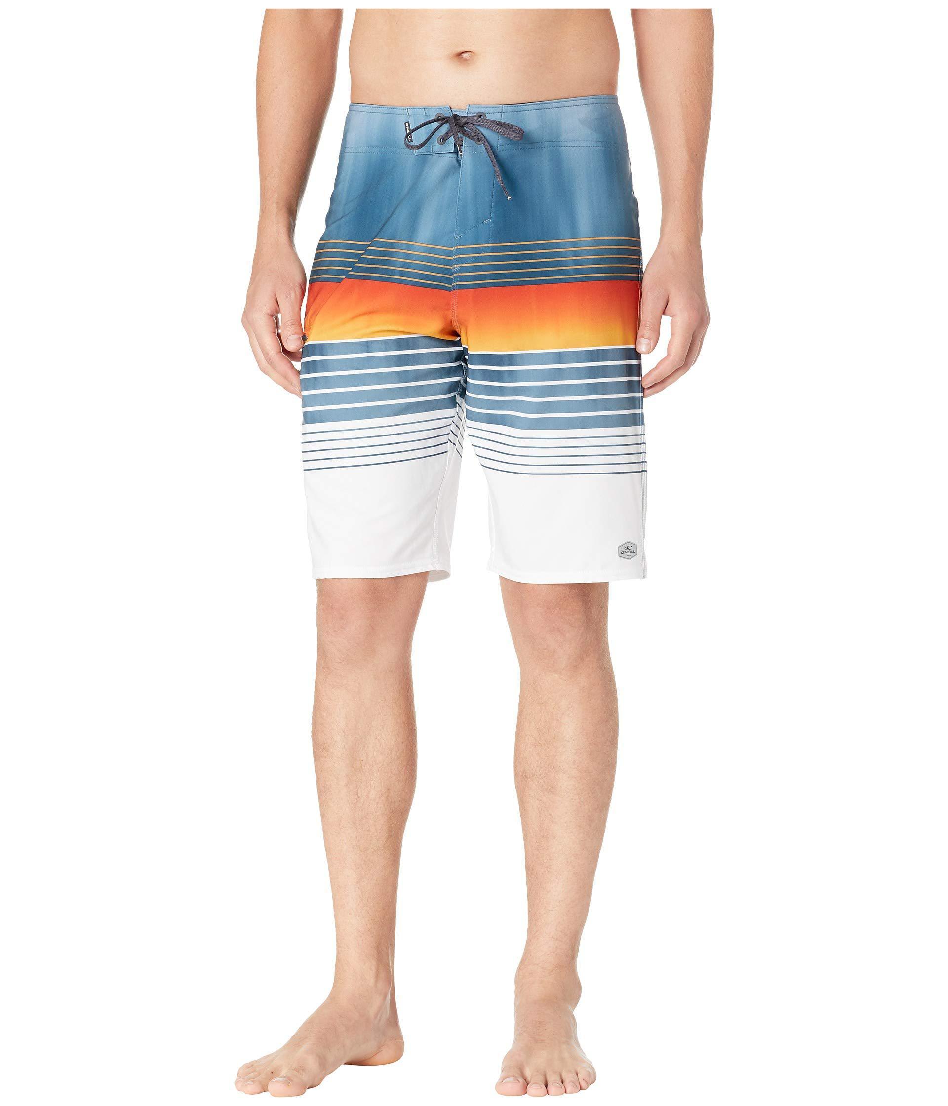 90a23a75bb O'neill Sportswear. Blue Hyperfreak Heist Superfreak Series Boardshorts  (turquoise) Men's Swimwear