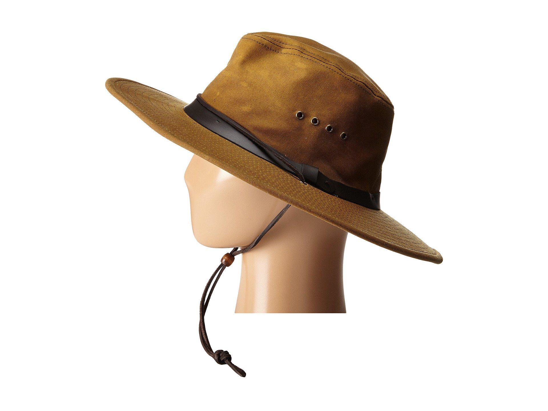 04046662098 Lyst - Filson Tin Bush Hat (tan) Caps in Brown for Men