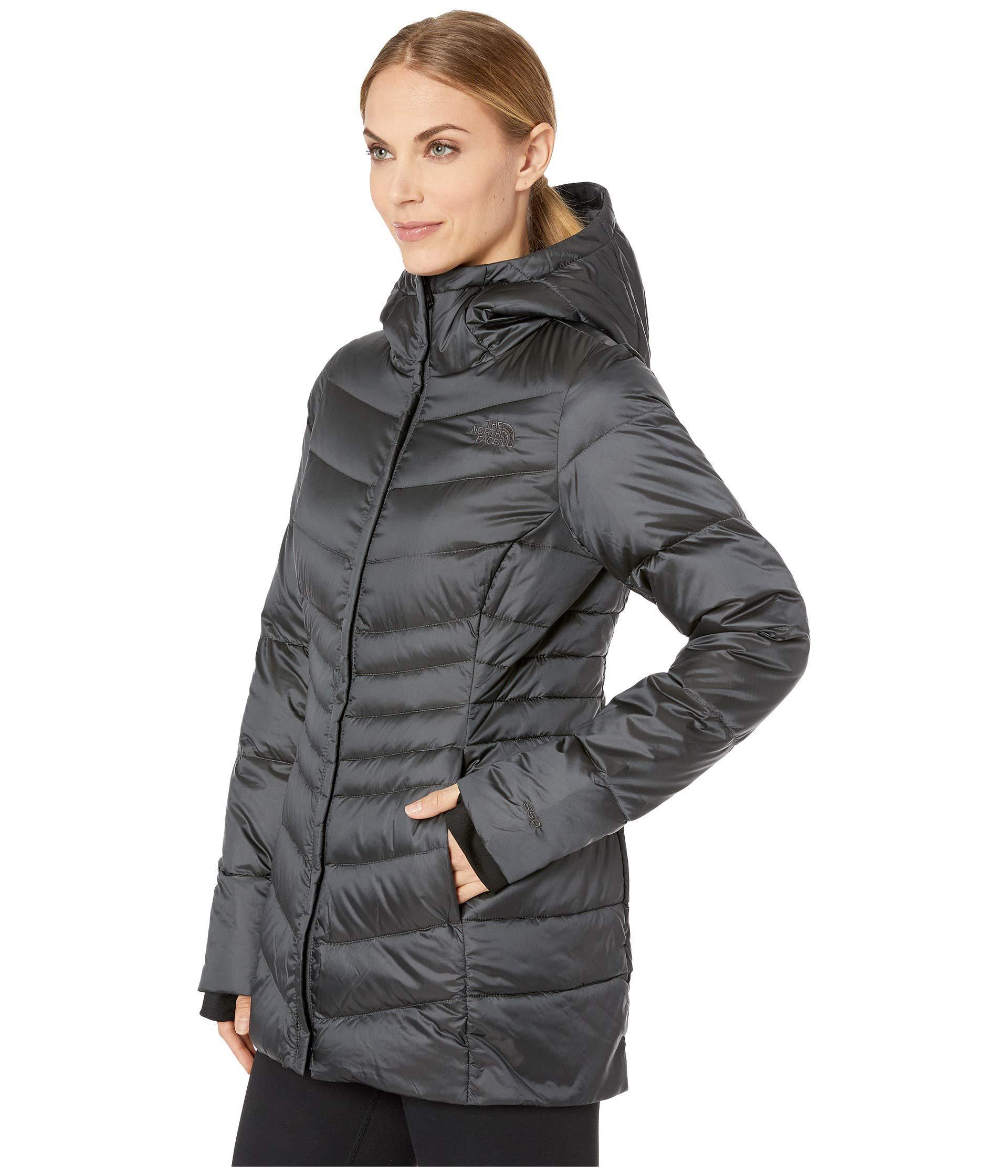 422537c4d4 Lyst - The North Face Aconcagua Parka Ii (tnf Black) Women s Coat in Gray