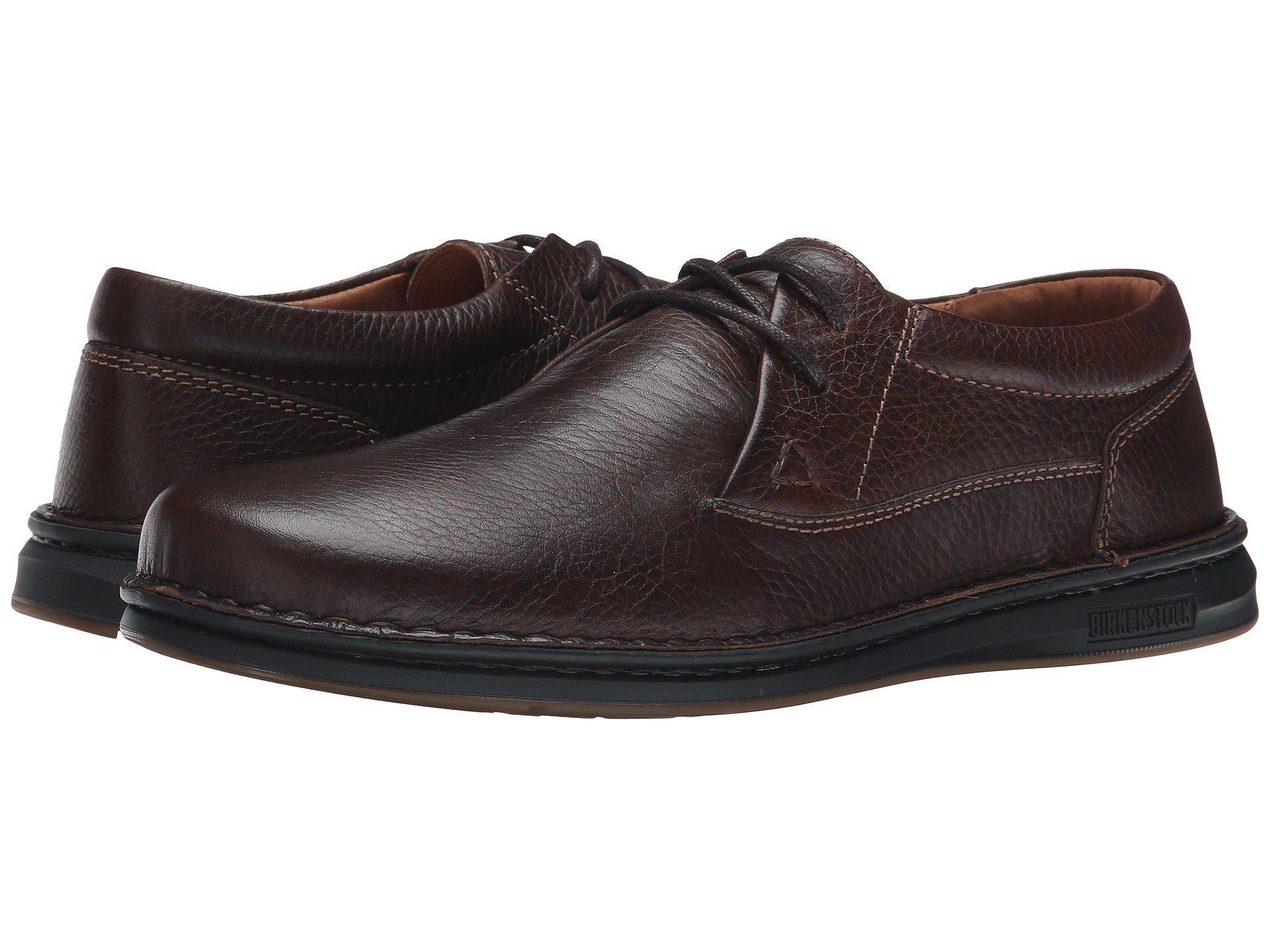 3c1ea0468444 Birkenstock Memphis (black Leather) Men's Lace Up Casual Shoes in ...