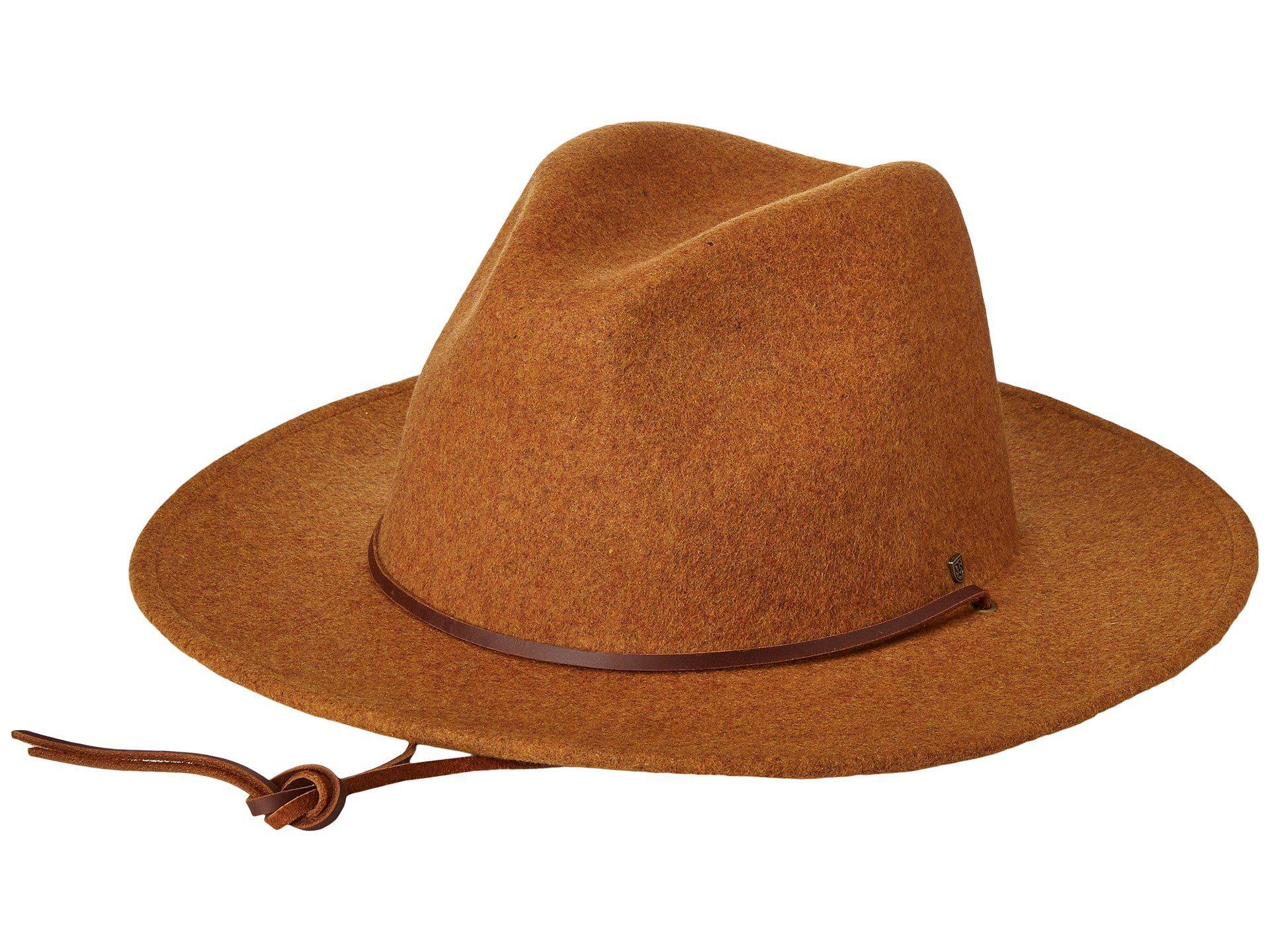 Lyst - Brixton Field Hat in Brown 71d47c95ba4