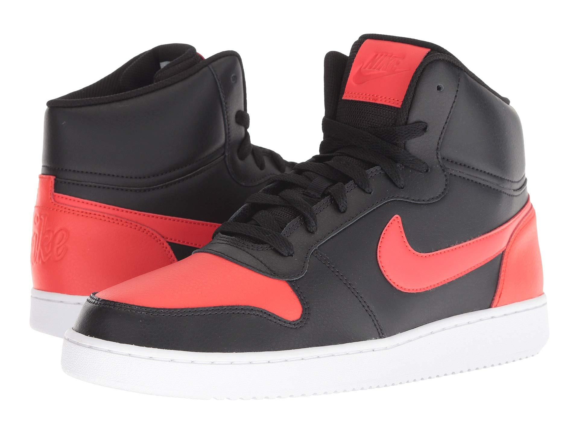 06c409d89c Lyst - Nike Ebernon Mid (black white) Men s Classic Shoes for Men