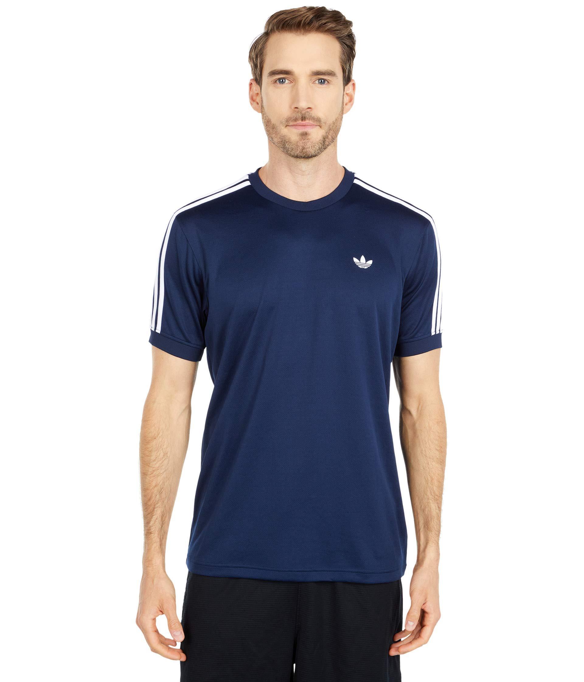 adidas Originals Synthetic Aero Club Jersey in Navy (Blue) for Men ...