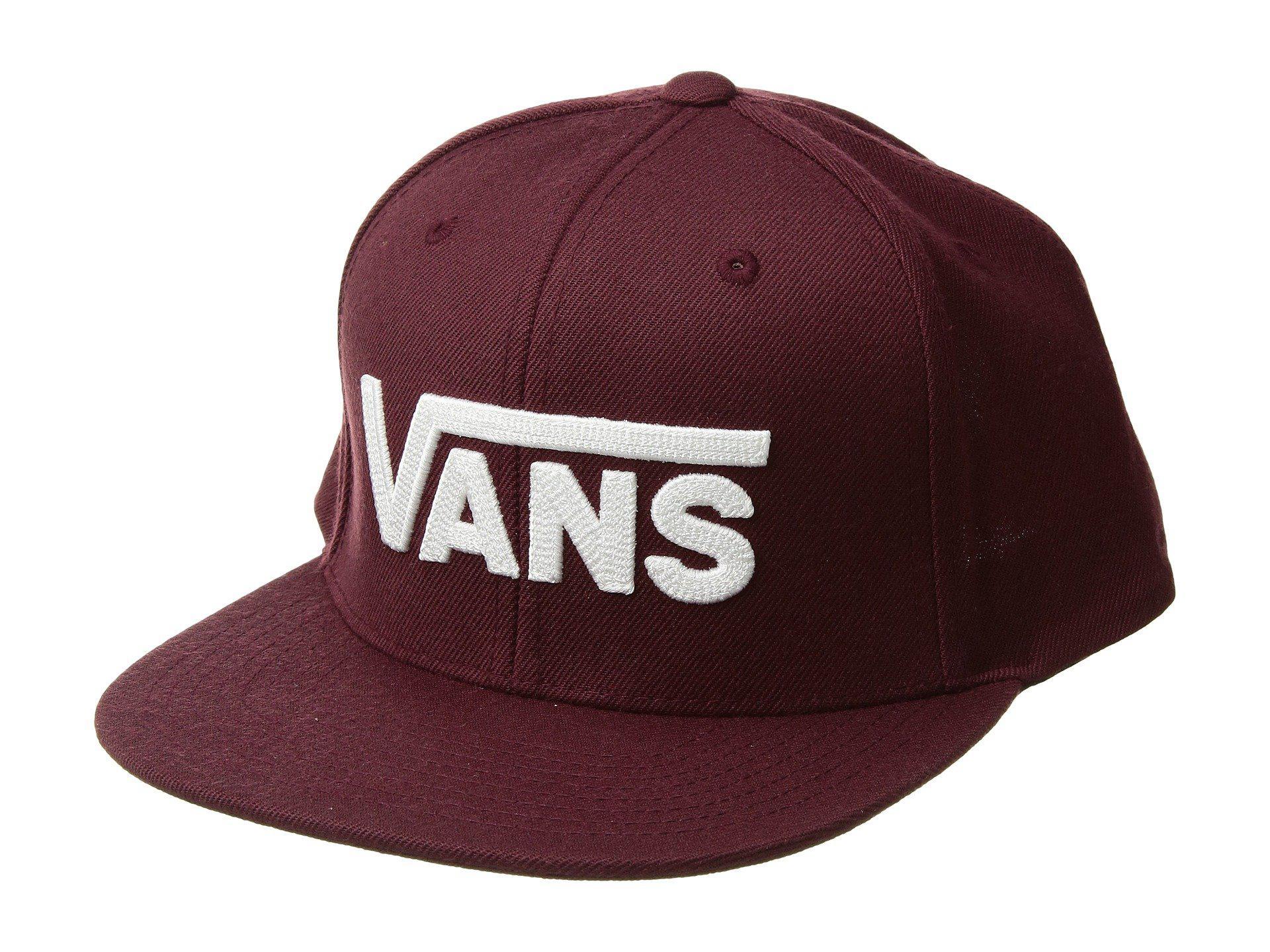 Vans - Red Drop V Ii Snapback (port Royale) Caps for Men - Lyst. View  fullscreen 0d9ae5577