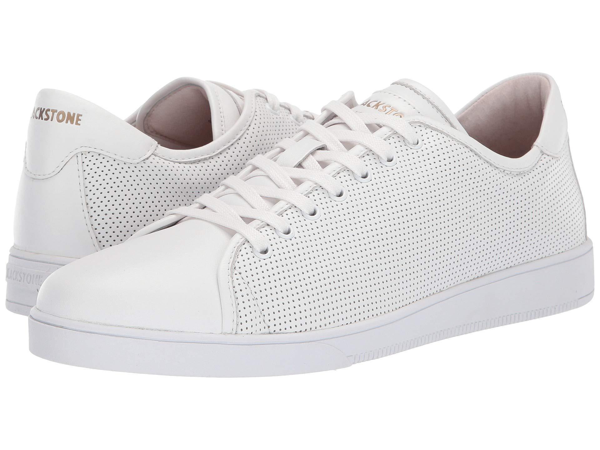 Blackstone Leather Low Sneaker Perf