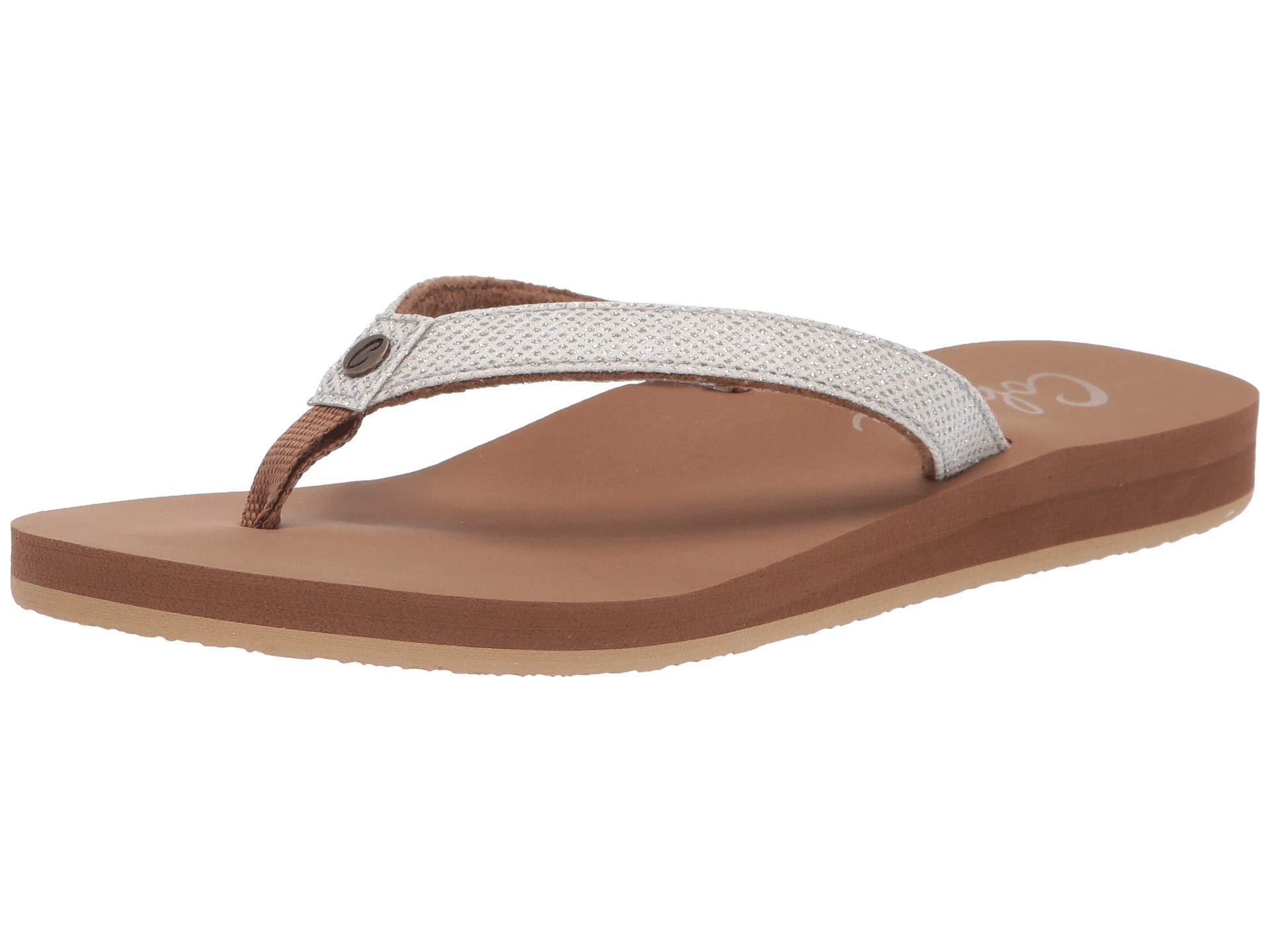 4f8911beb3e28 Cobian - White Fiesta Skinny Bounce (tan) Women s Sandals - Lyst. View  fullscreen