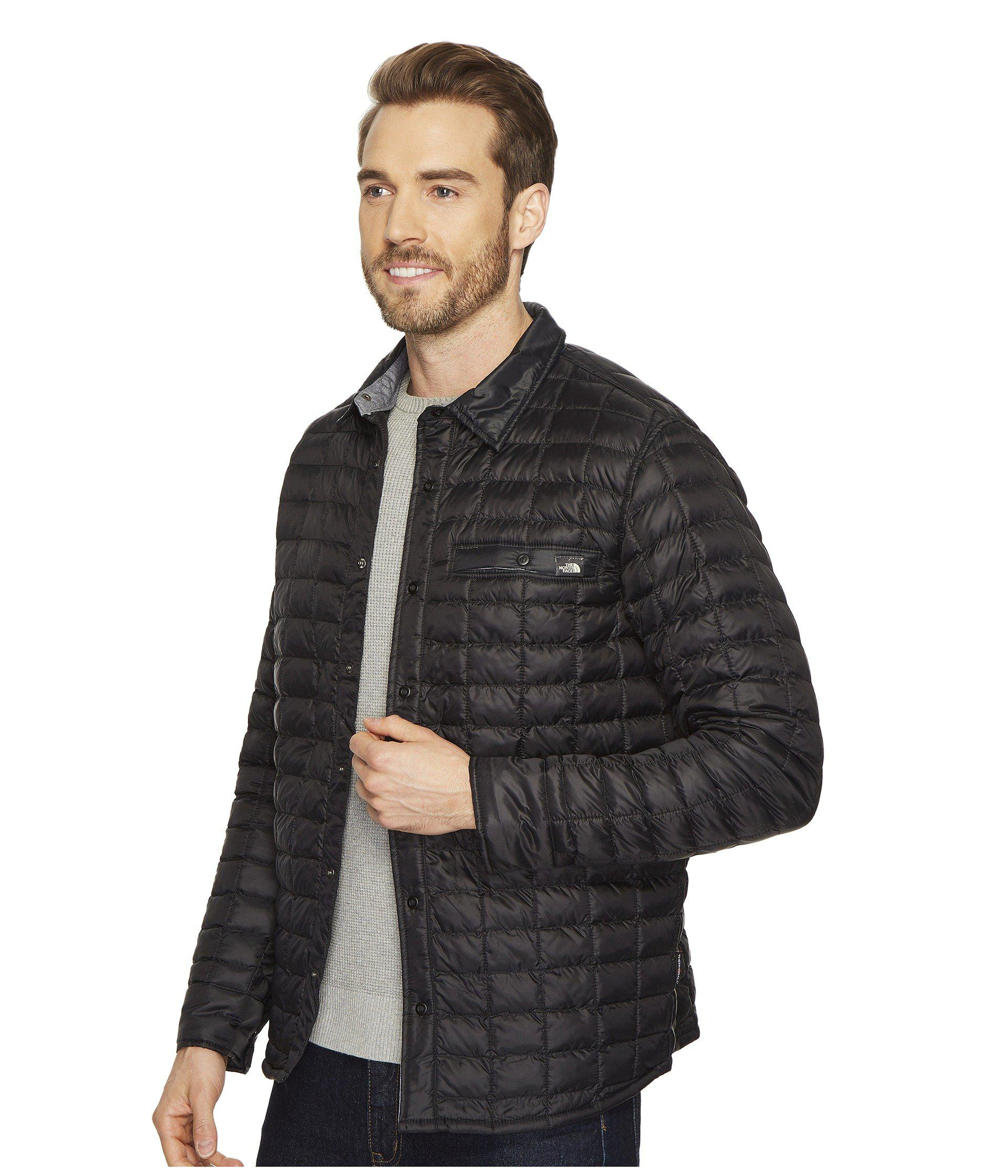 90c639d2b Men's Black Reyes Thermoball Shirt Jacket