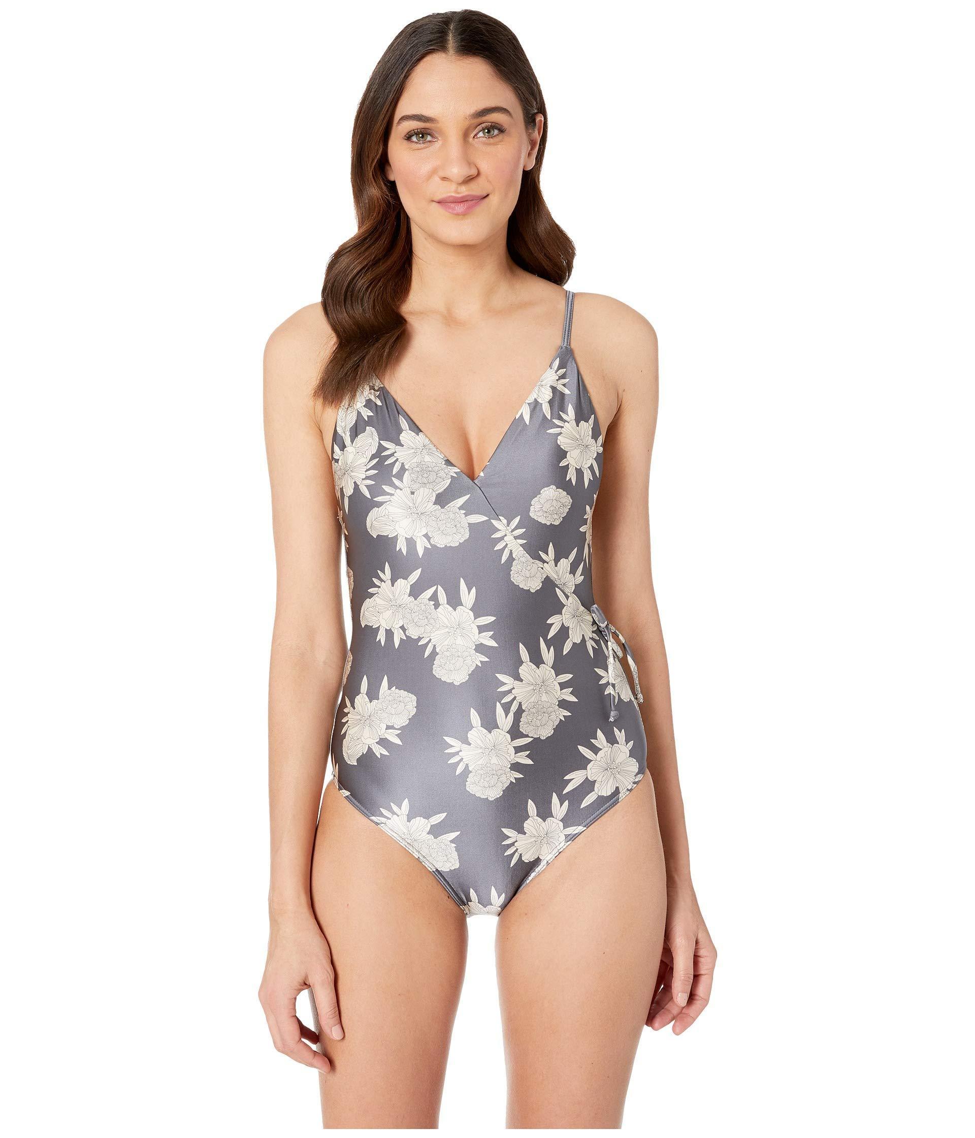 Roxy Womens Romantic Senses One Piece Swimsuit