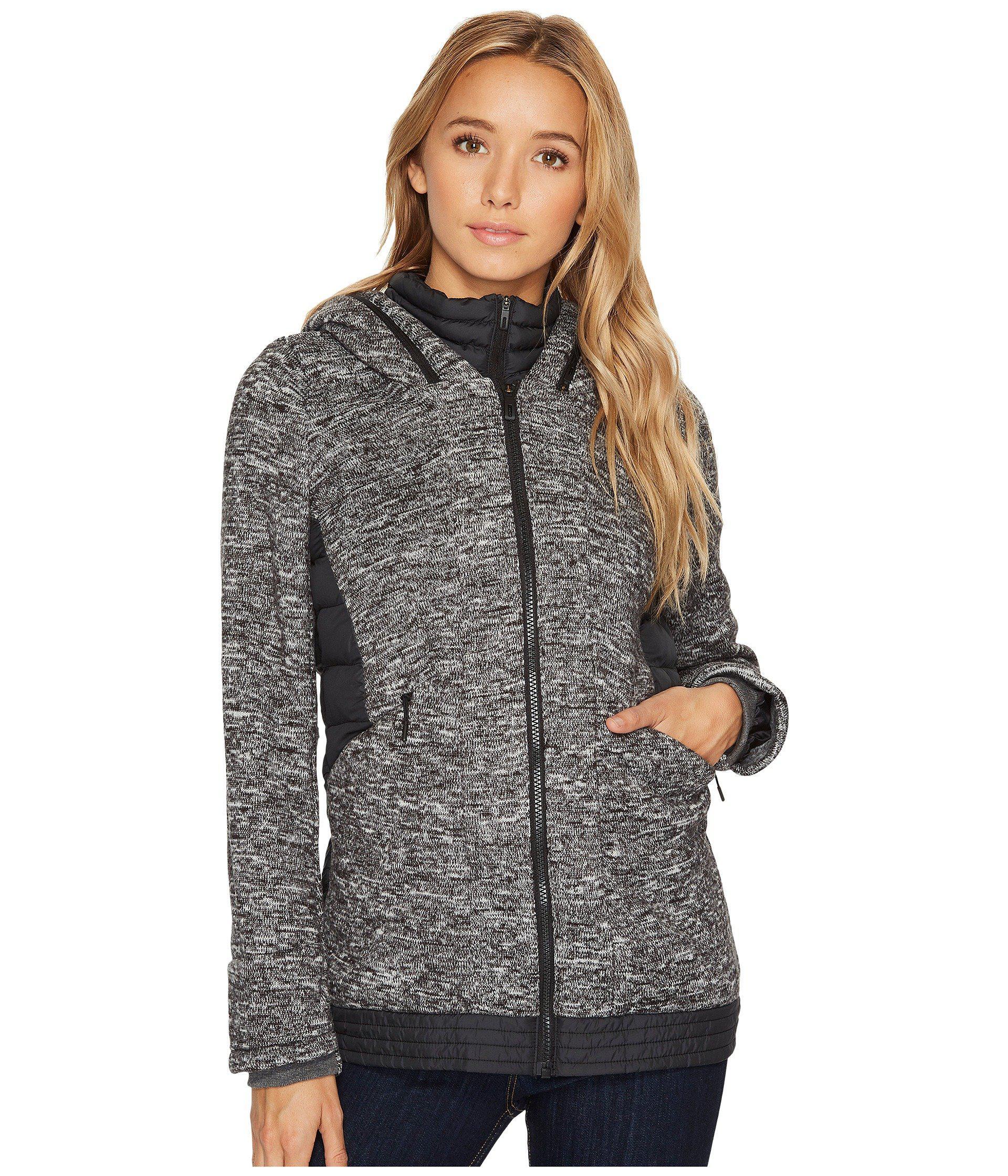 78130616d Women's Gray Nuvic Hybrid Jacket 2