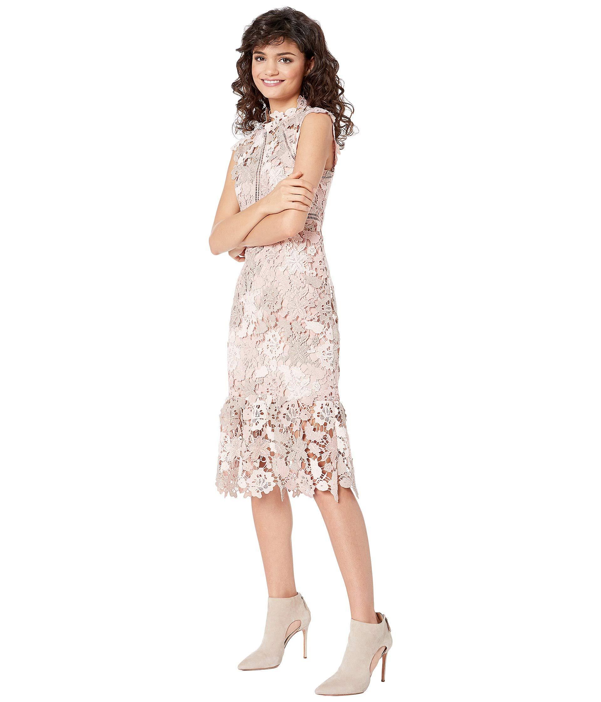 Dani Lace Dress Rosebeige Womens Dress