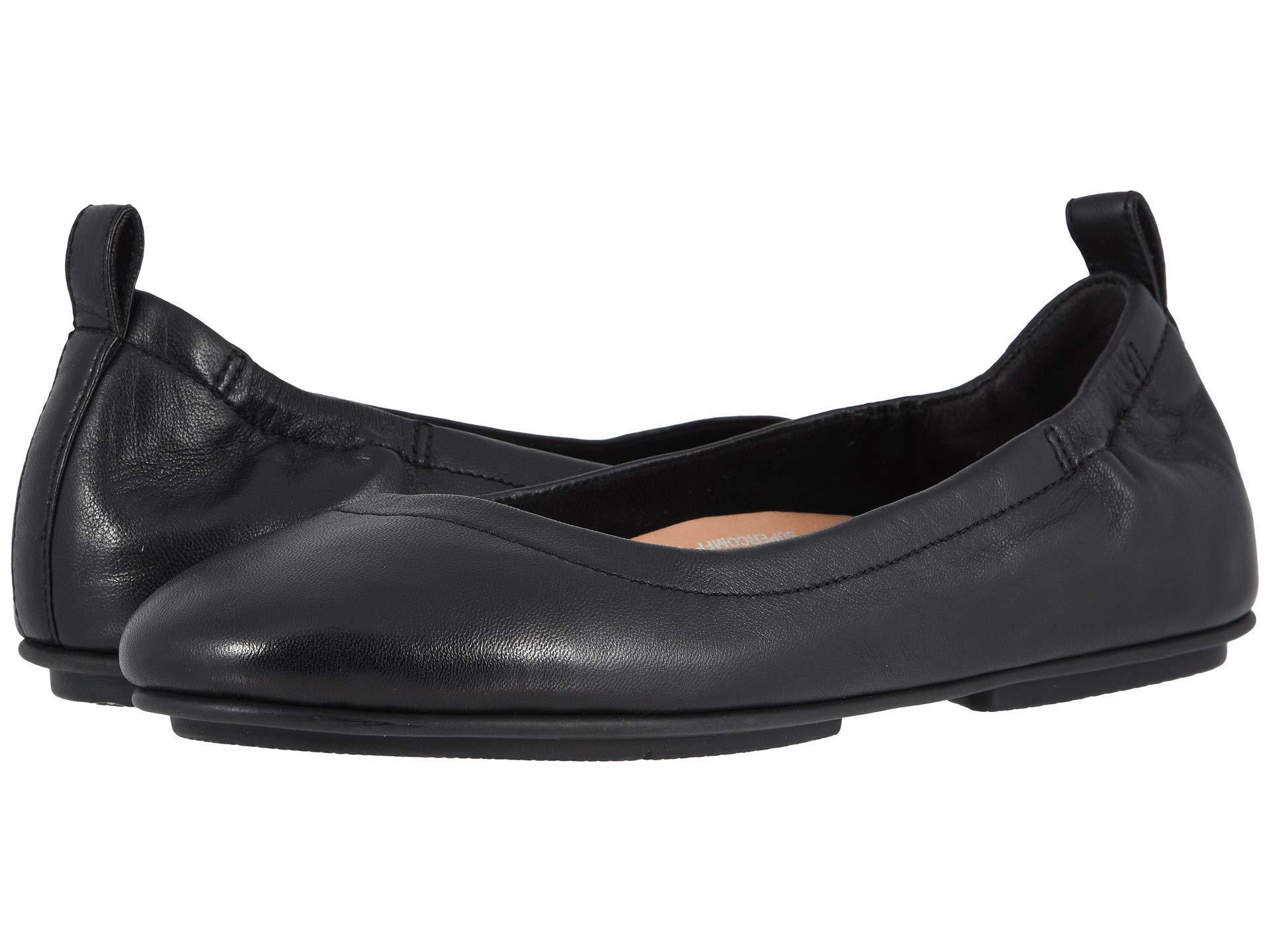 0208d799b2eb Lyst - Fitflop Allegro (black) Women s Flat Shoes in Black