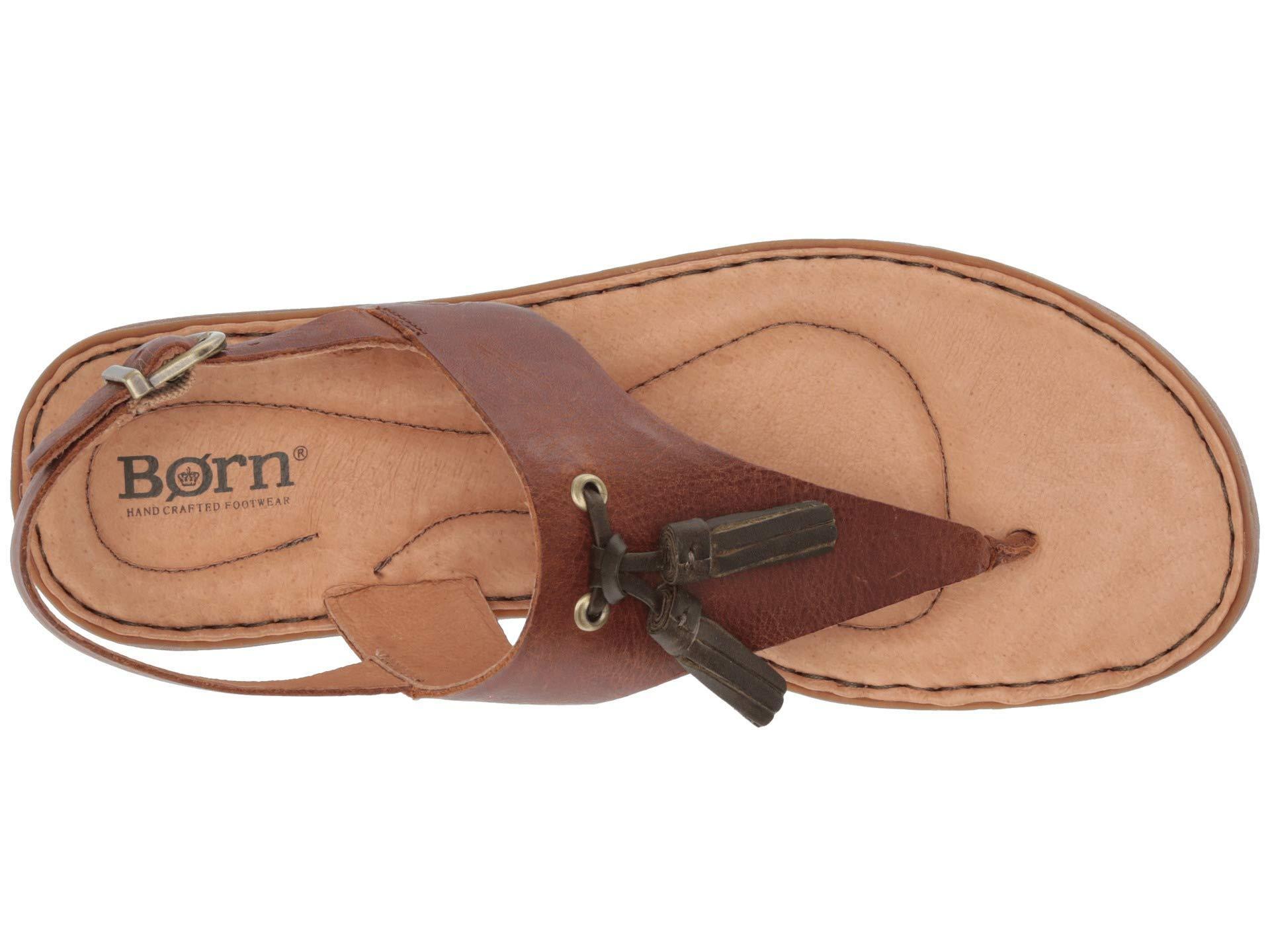 9f58e0c28724 Lyst - Born St. Joe (tan Full Grain Leather) Women s Sandals in Brown