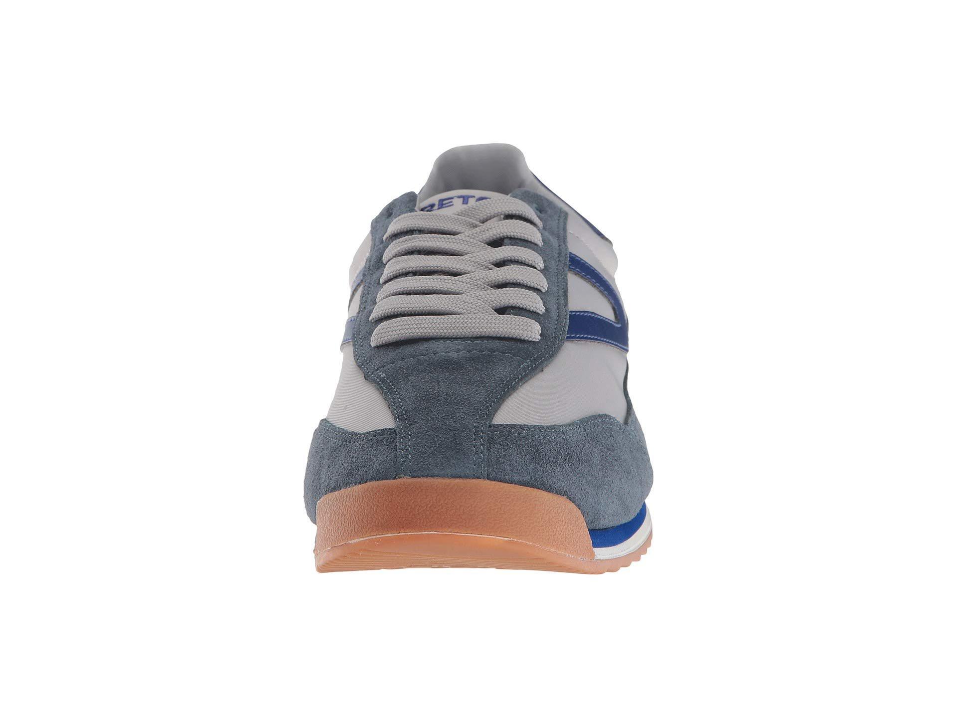 Tretorn Suede Rawlins 2 Baltico Smoke Focal Blue Shoes