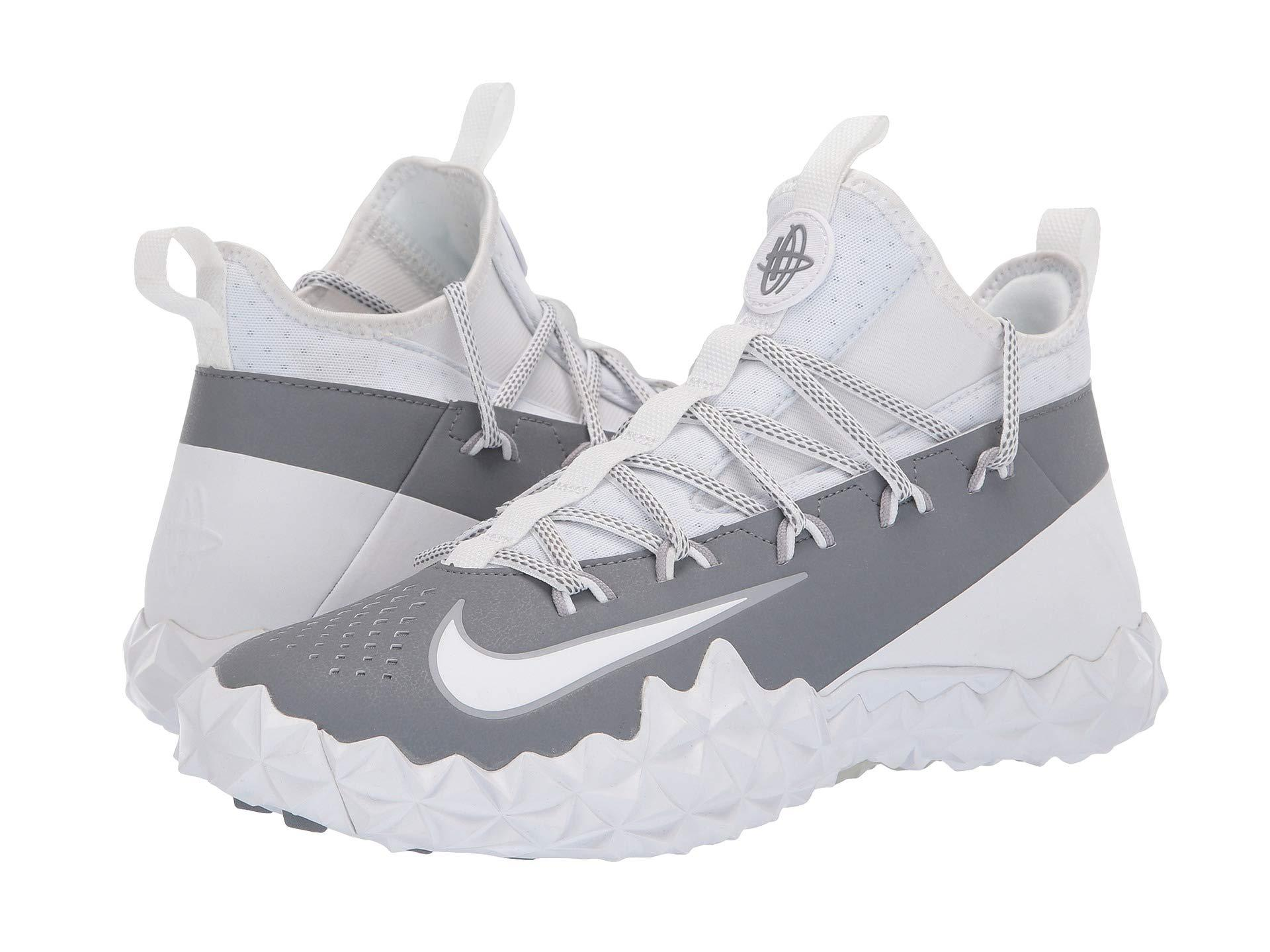 0c71f845527 Lyst - Nike Alpha Huarache 6 Elt Turf Lax (white white cool Grey ...