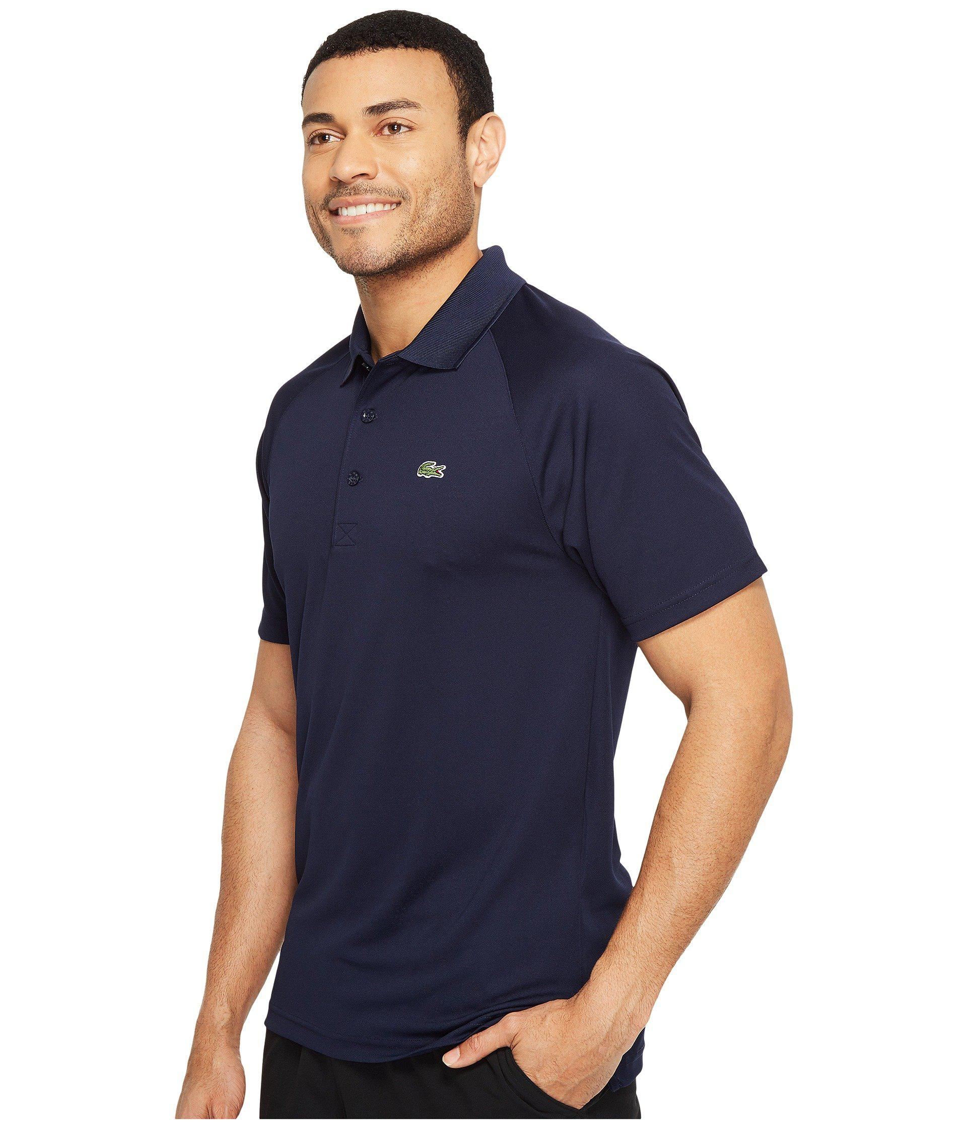 caab4b481860 Lyst - Lacoste Slim Fit Pique Polo In Navy in Blue for Men