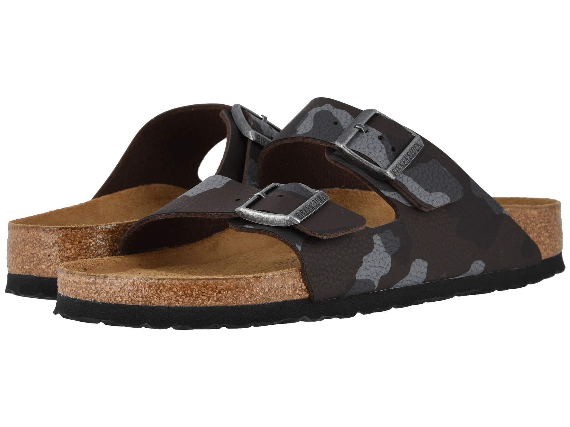 00ca7e2397b1 Lyst - Birkenstock Arizona Soft Footbed (desert Soil Camo Brown ...