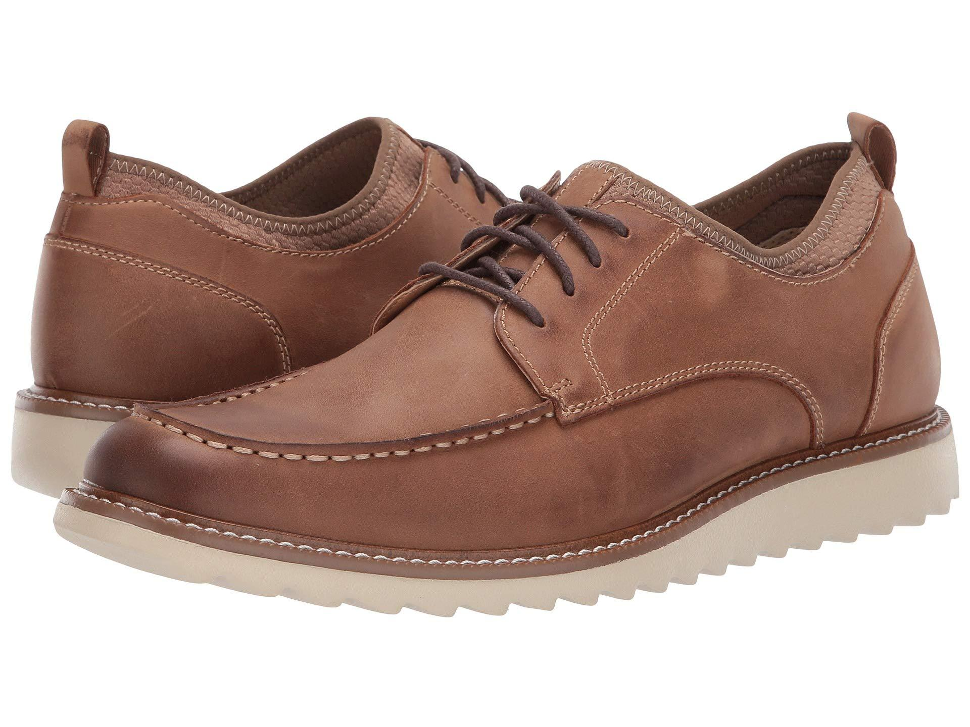 a7d337b563d0 Dockers. Faraday Smart Series Oxford (dark Brown Burnished Crazy Horse) Men s  Lace Up Casual Shoes