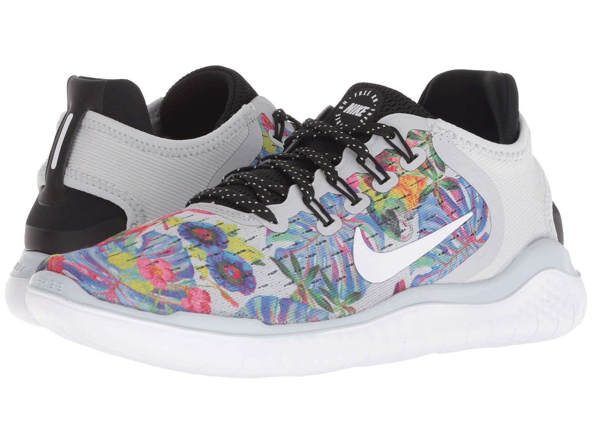 2b05095f6c8e Lyst - Nike Free Rn 2018 Gpx Rs (pure Platinum white black) Women s ...