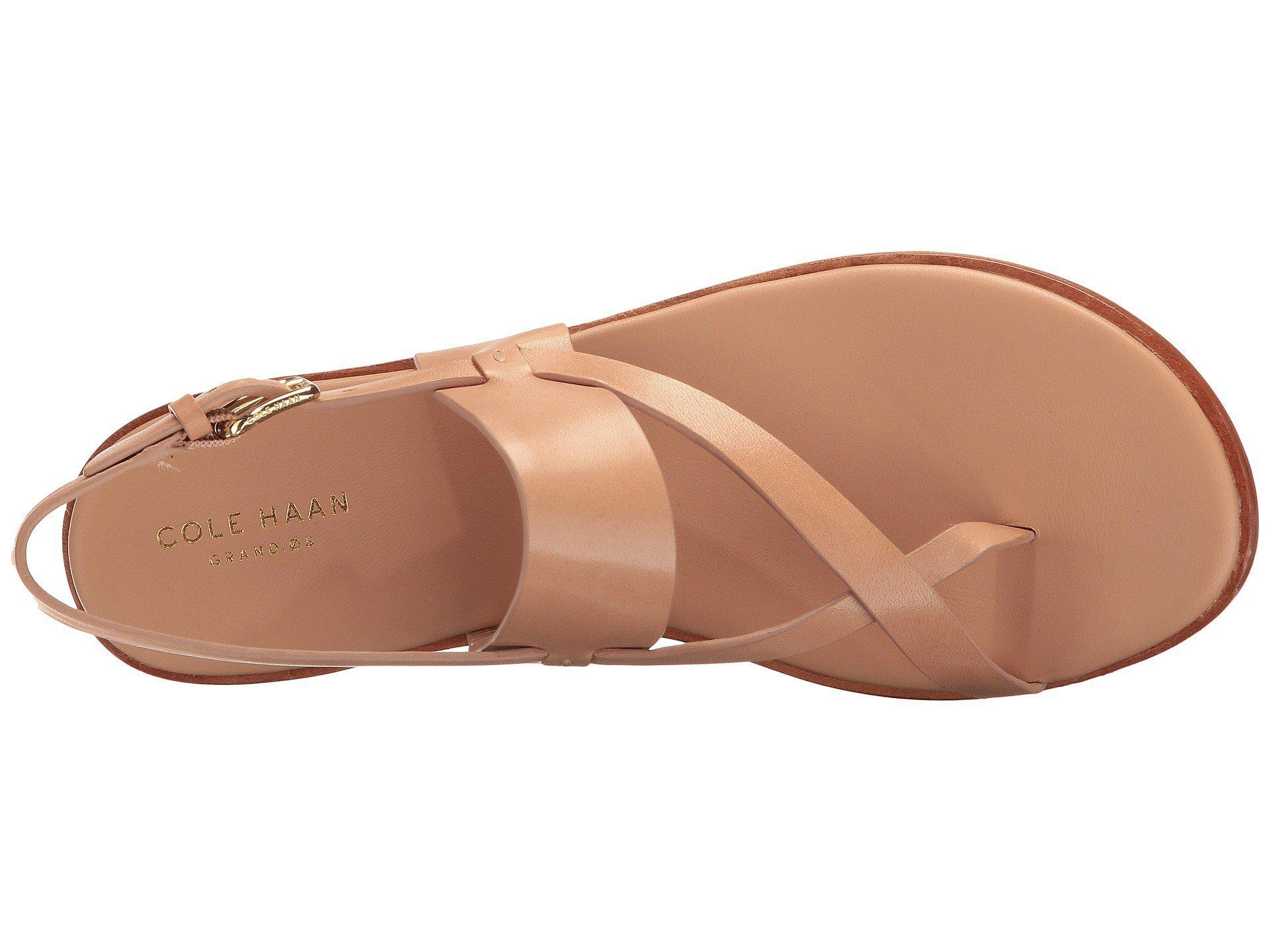 b2cdb78215fe Cole Haan - Multicolor Anica Thong Sandal (nude) Women s Dress Sandals -  Lyst. View fullscreen