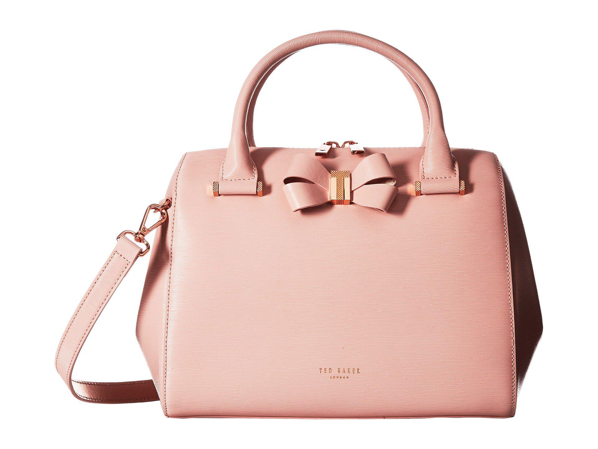ba213232b5ea Lyst - Ted Baker Bowsiia in Pink