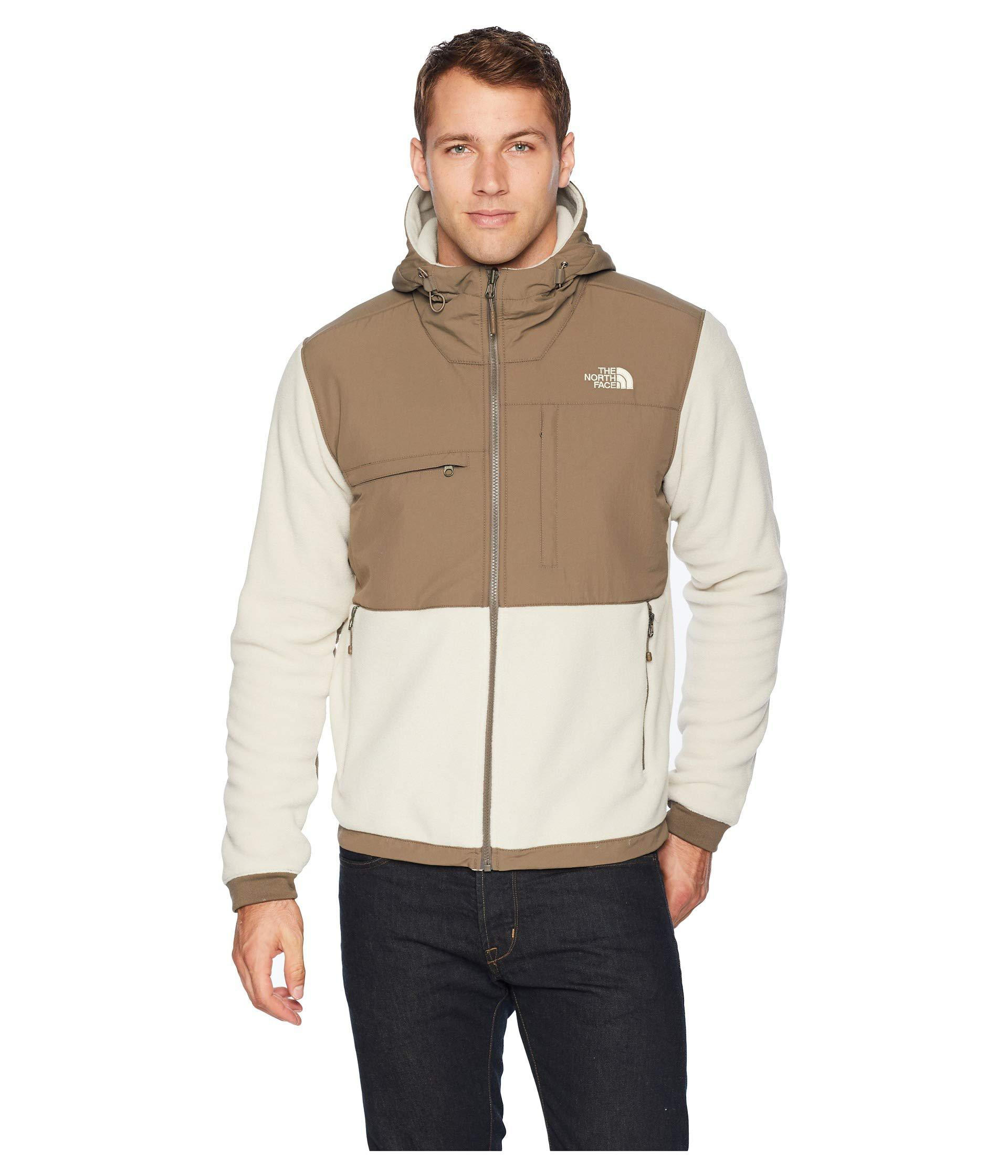 faf3984bd The North Face Natural Denali 2 Hoodie (peyote Beige/weimaraner Brown 1)  Men's Sweatshirt for men