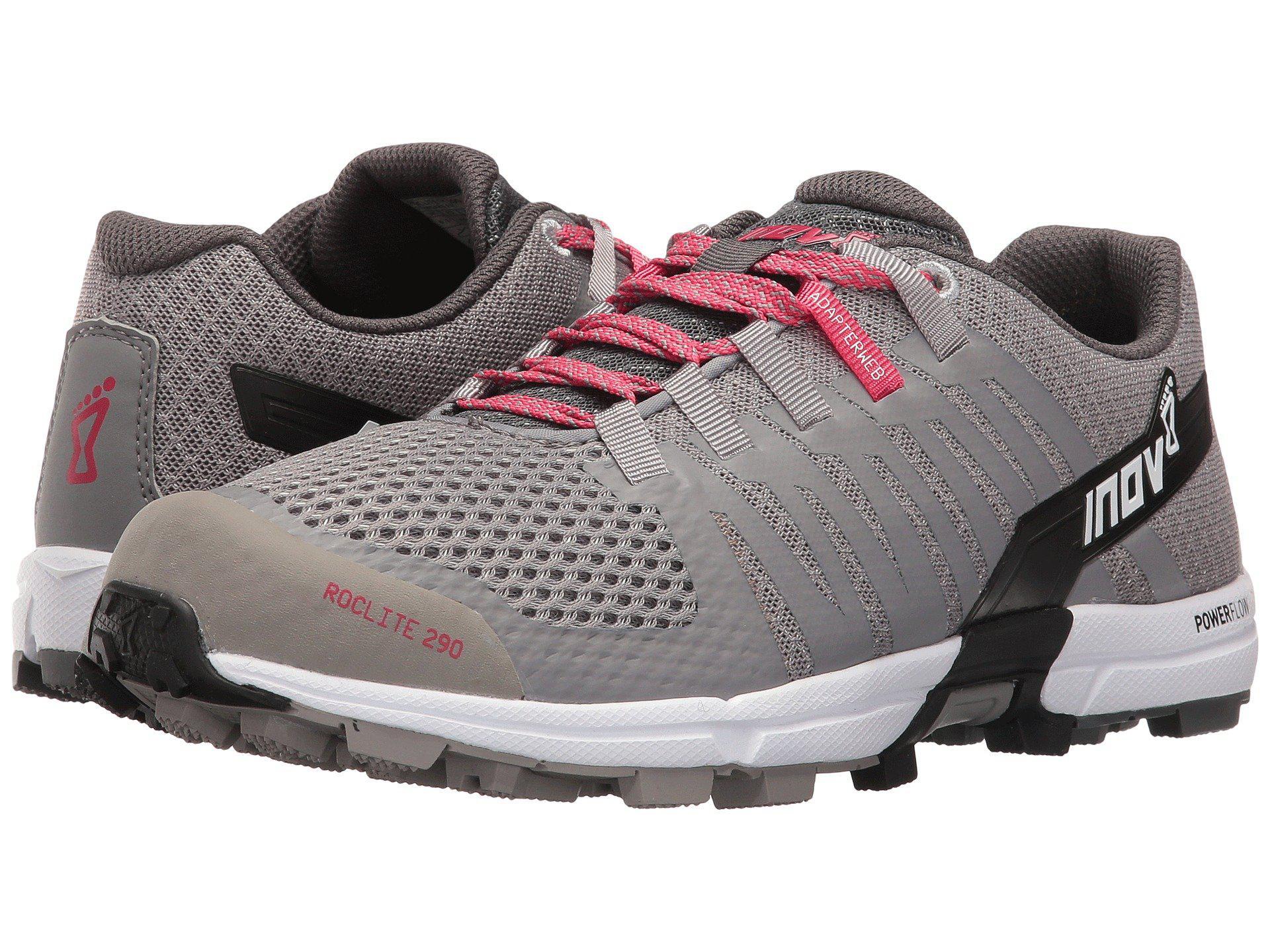 Lyst - Inov-8 Roclite 290 (blue Grey white) Women s Shoes in Gray 7f2664a6e9a