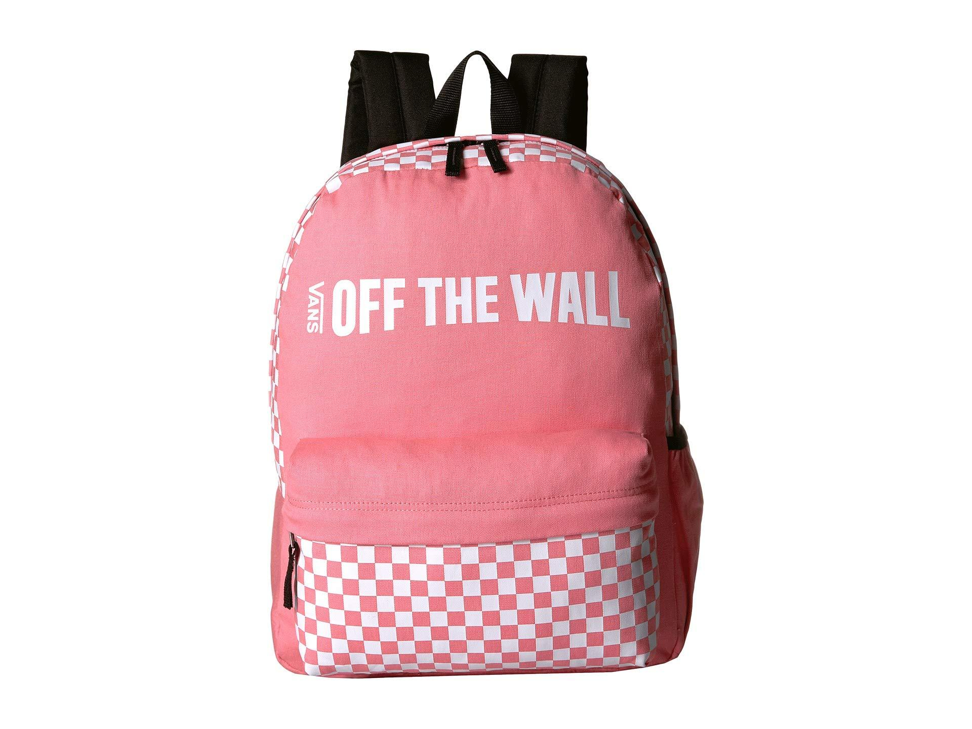 9c5f4784050 Lyst - Vans Central Realm Backpack (black) Backpack Bags in Pink