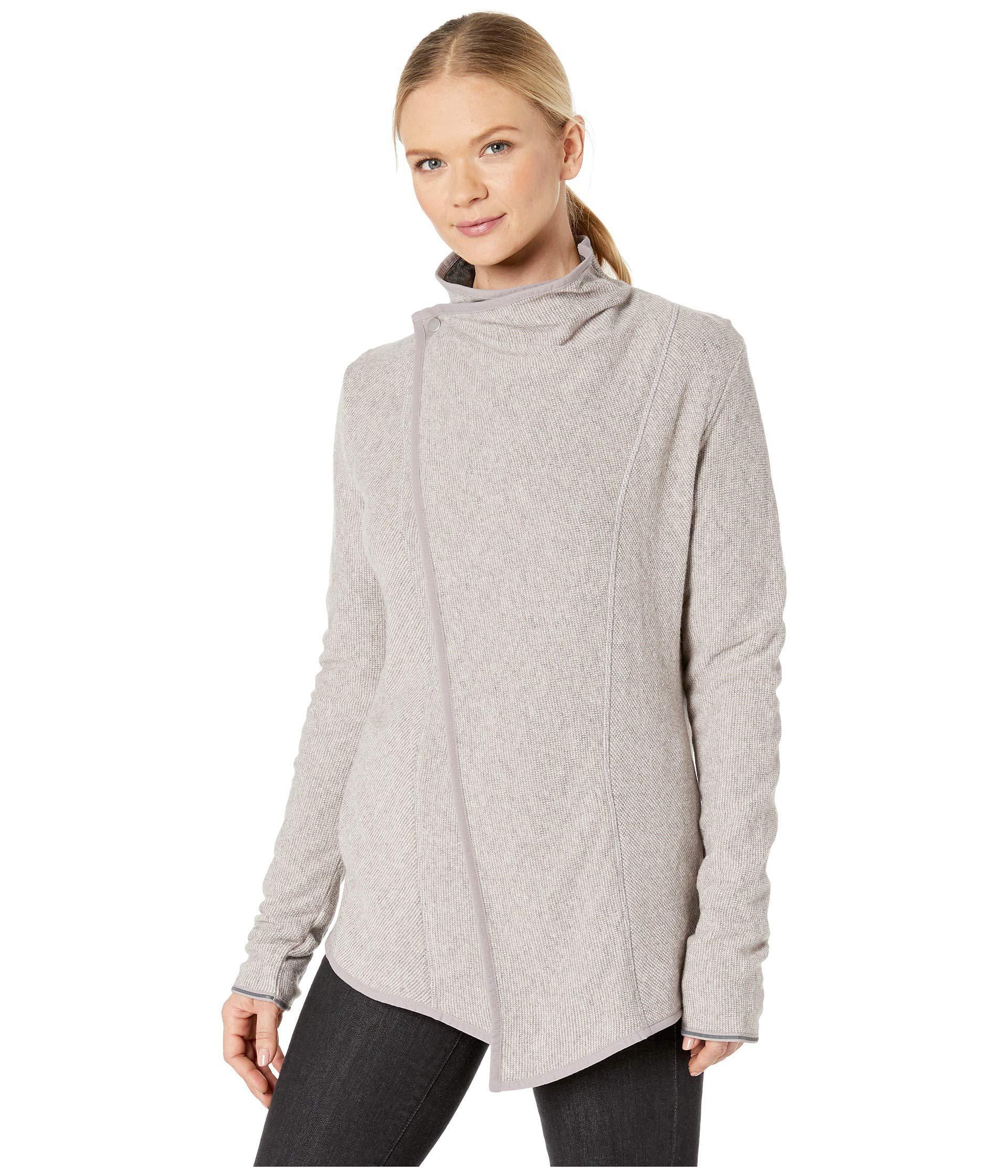 Lyst Mountain Hardwear Sarafin Wrap Sweater Black Womens