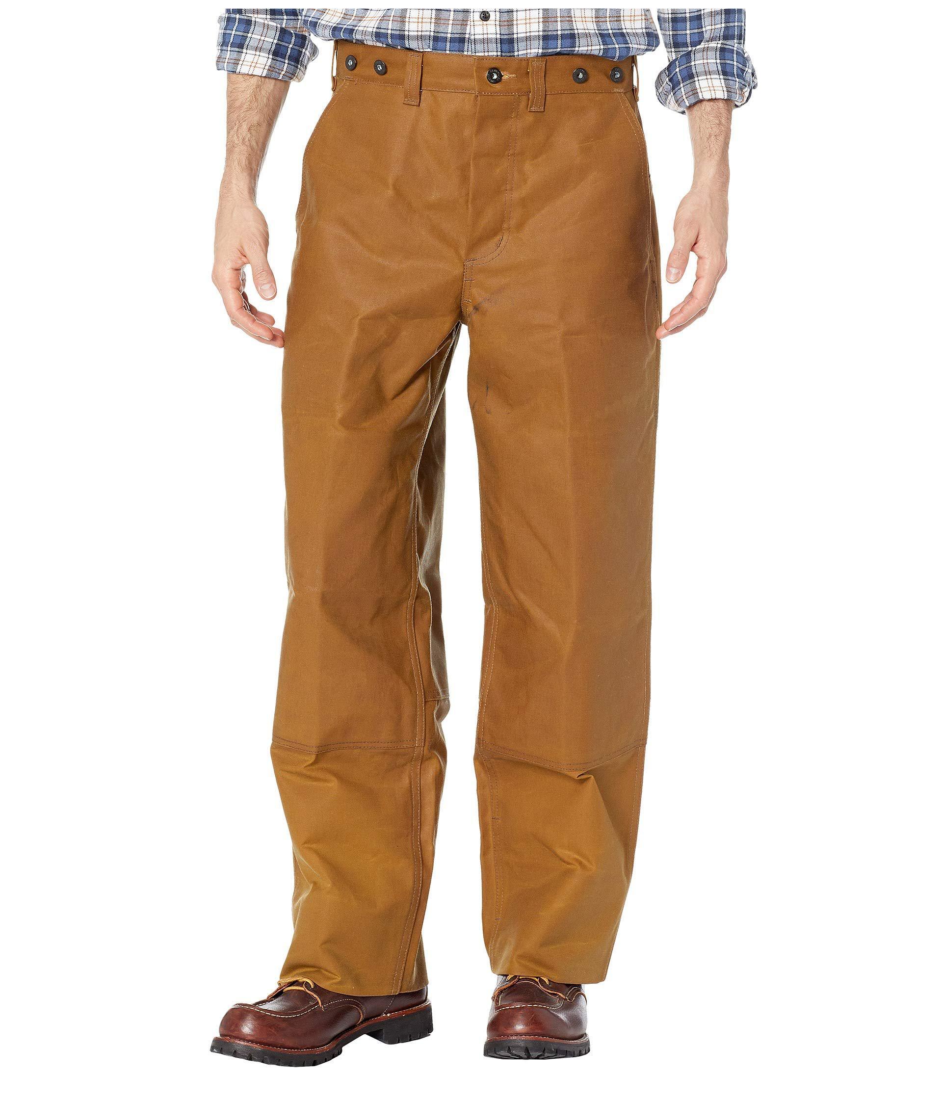 Filson Oil Finish Double Tin Bib Pant - Men's ... |Filson Tin Pant Oil Finish