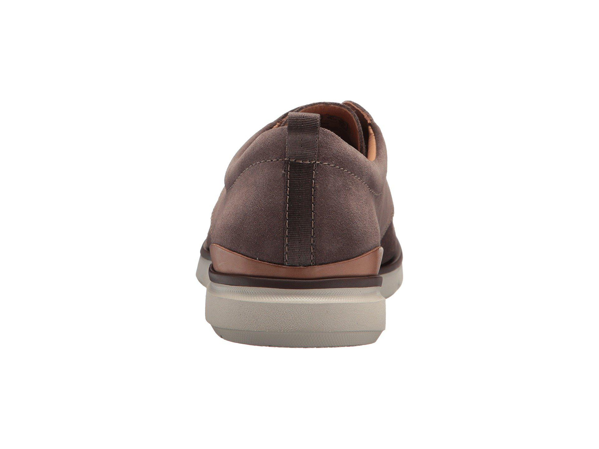pompa pescado Articulación  Clarks Leather Edgewood Mix in Taupe Suede (Brown) for Men - Lyst