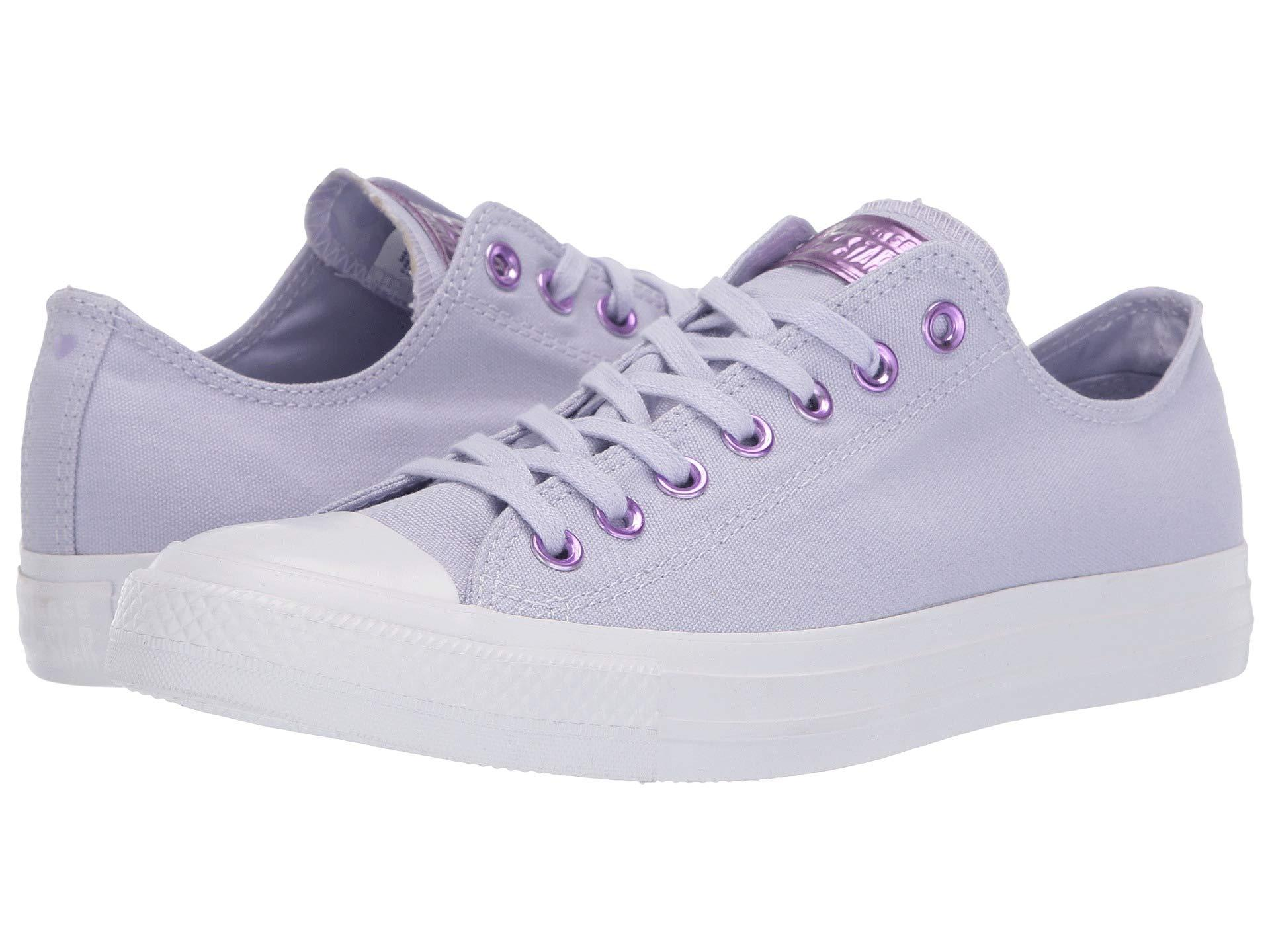 1d2782e74f6469 Converse. Women s Chuck Taylor(r) All Star(r) Hearts Ox (oxygen Purple  washed ...