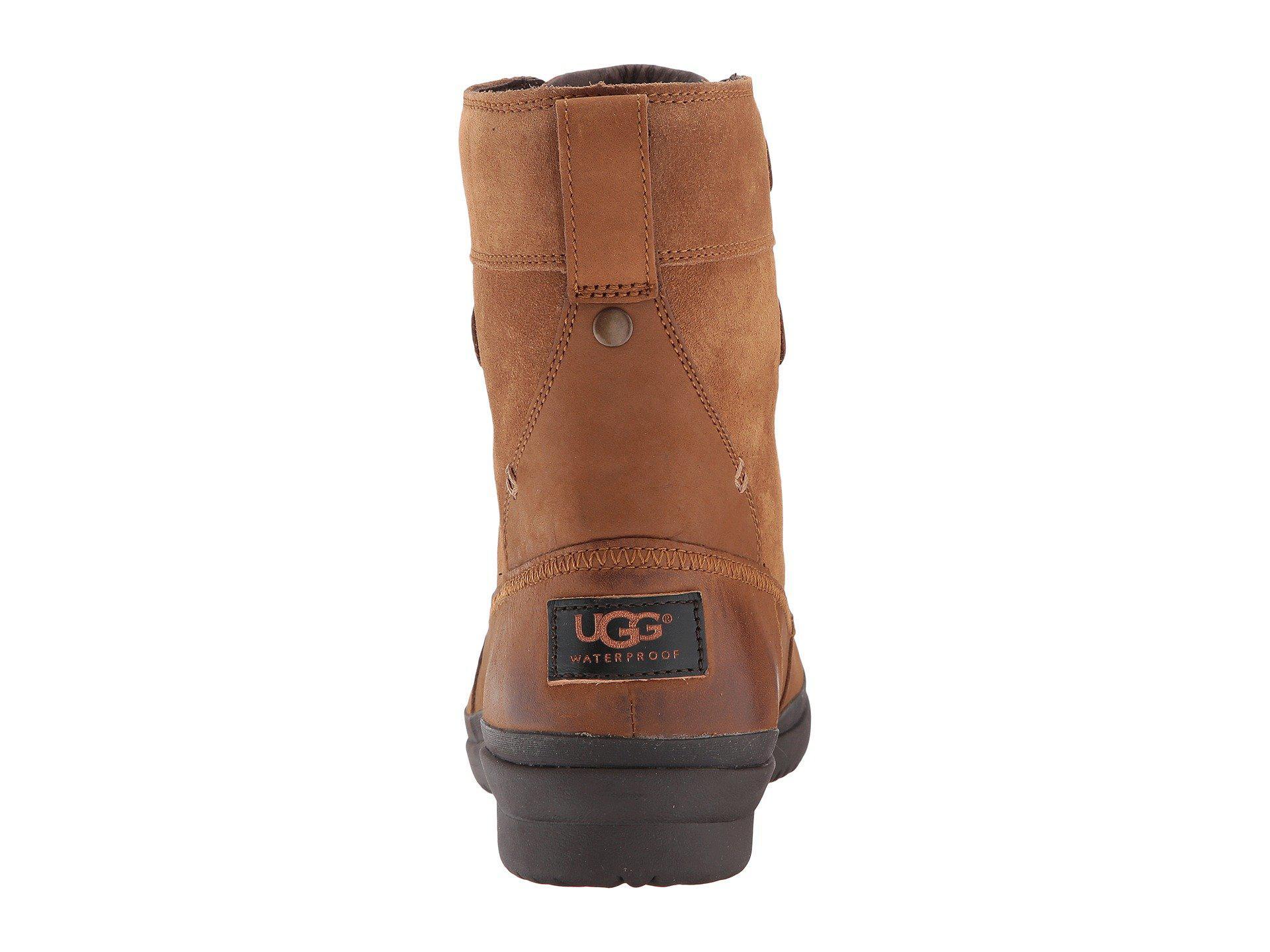 UGG Leather Azaria (chestnut) Women's