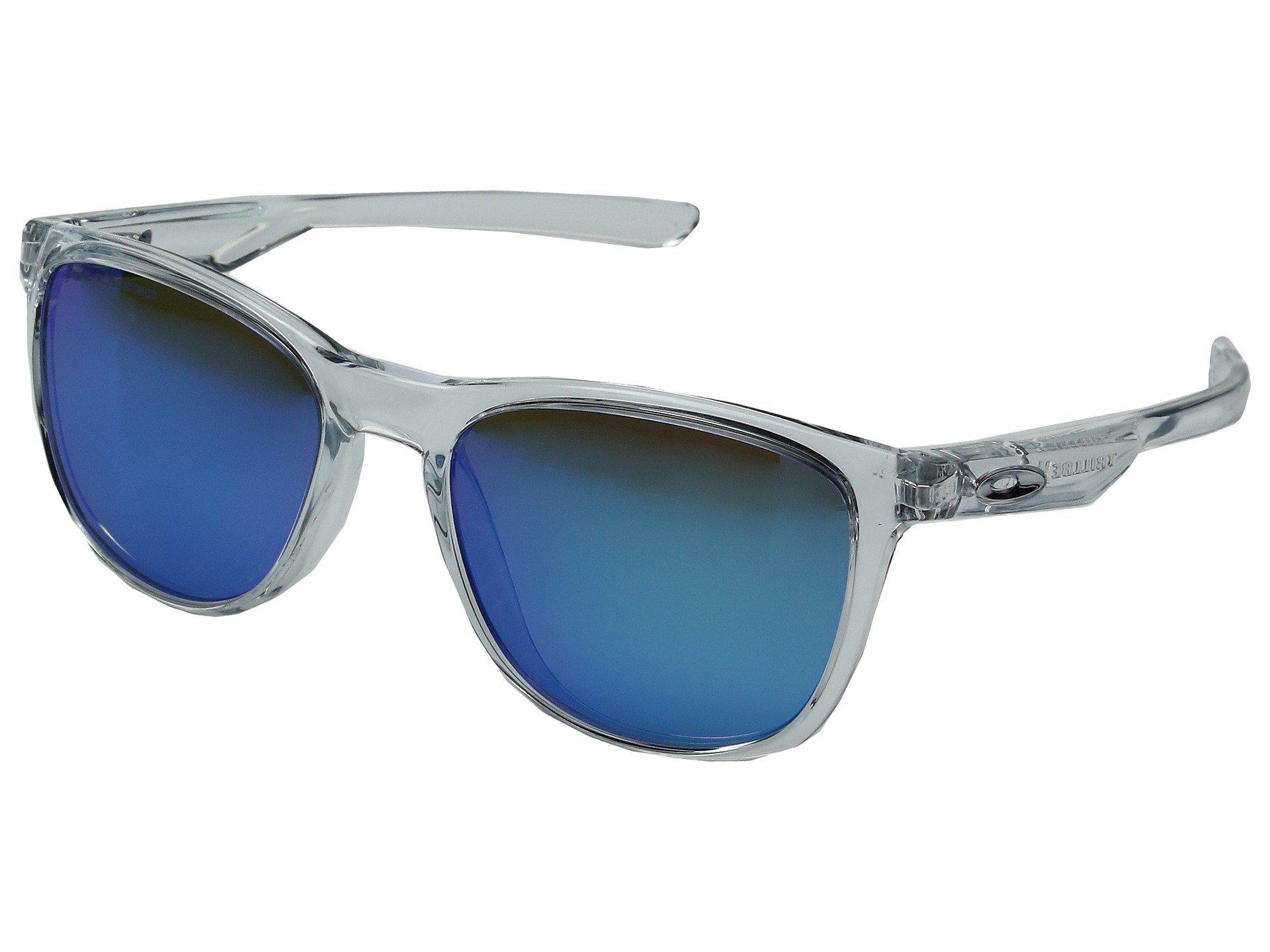 ea07f4a14e Oakley. Women s Blue Trillbe X (matte Black Ink violet Iridium Polarized) Fashion  Sunglasses