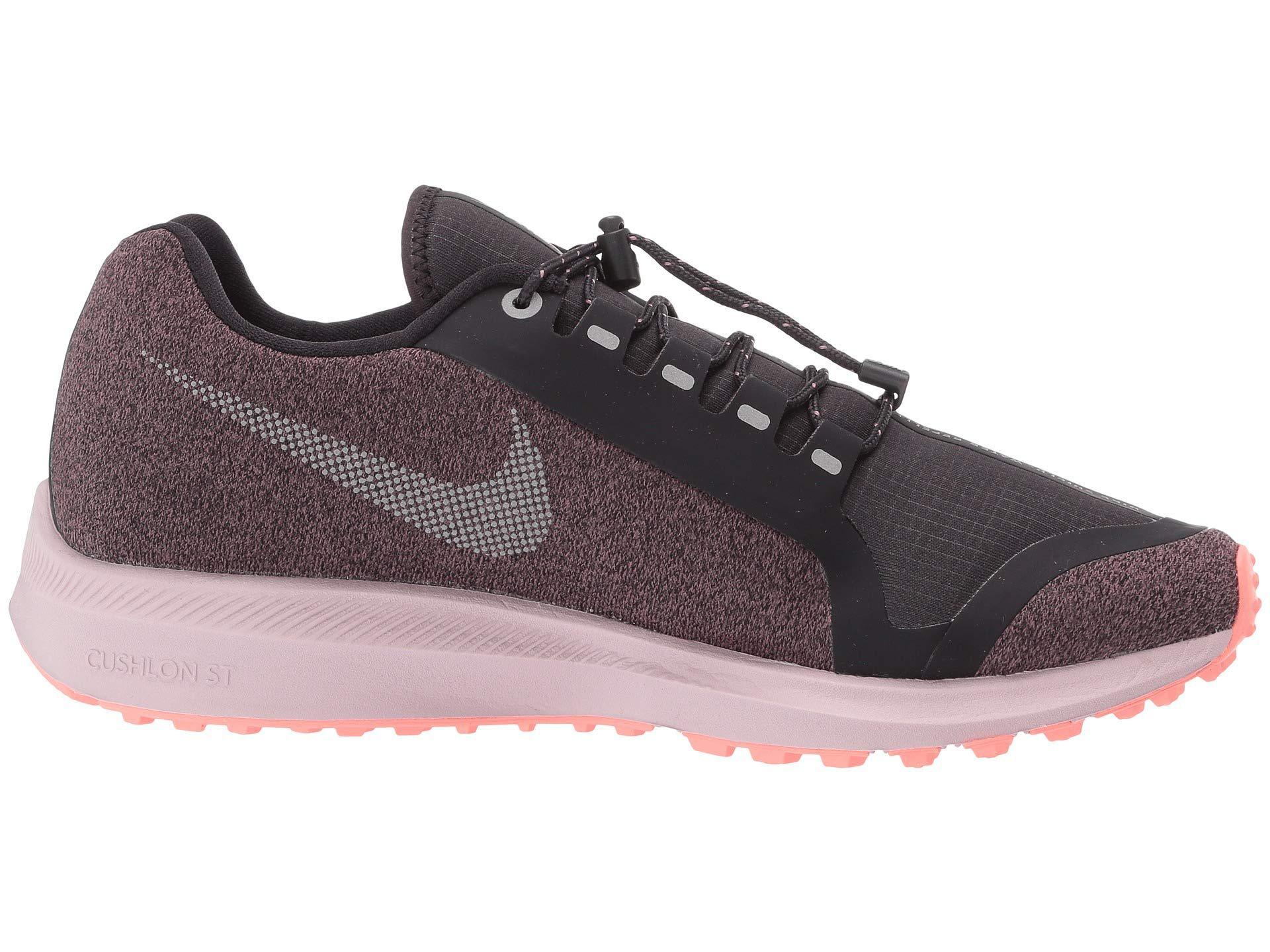 d32a3c144357 Lyst - Nike Air Zoom Winflo 5 Run Shield (smokey Mauve metallic Silver oil  Grey) Women s Running Shoes in Metallic