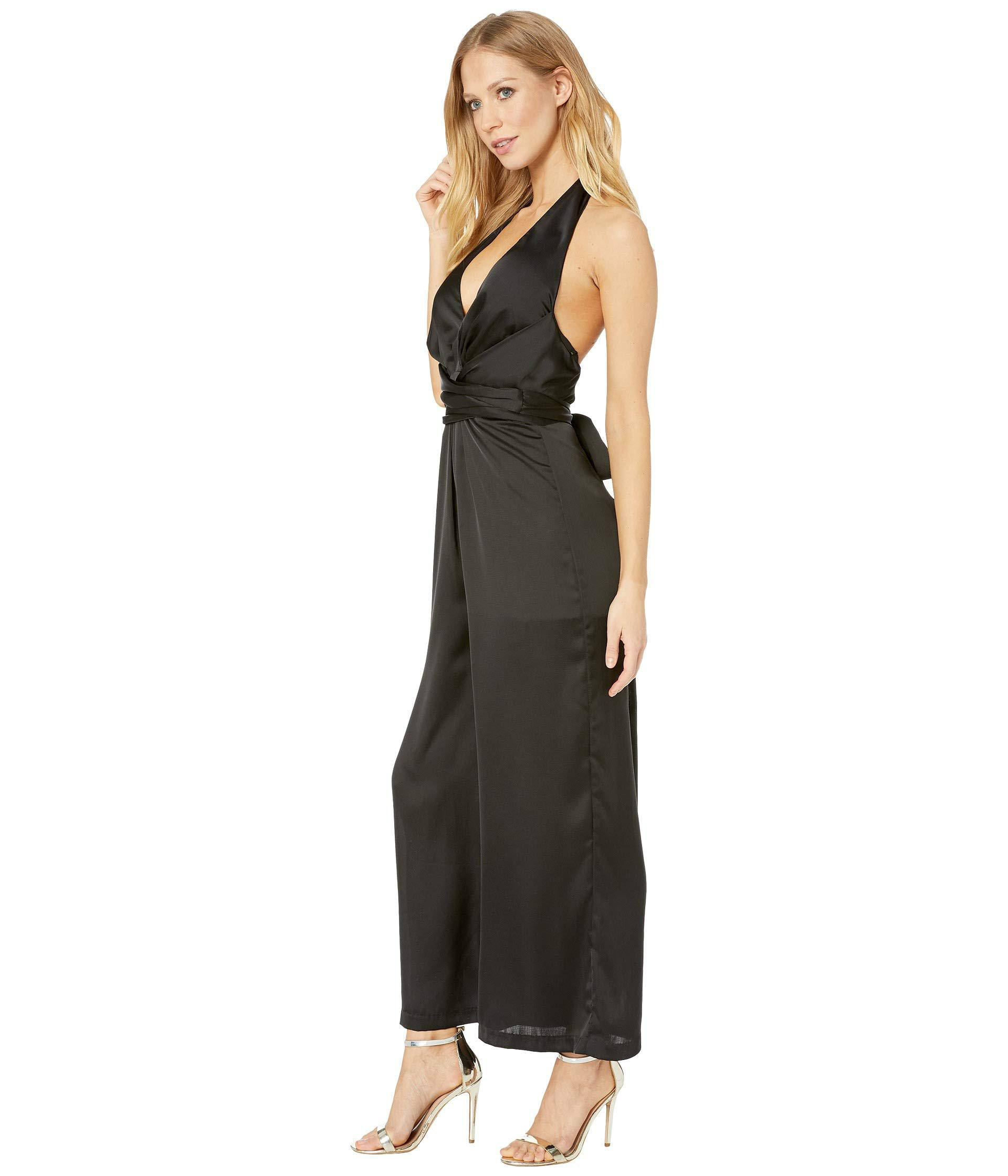 b02680cd3d1 Lyst - Astr Boogie Nights Jumpsuit (black) Women s Jumpsuit   Rompers One  Piece in Black