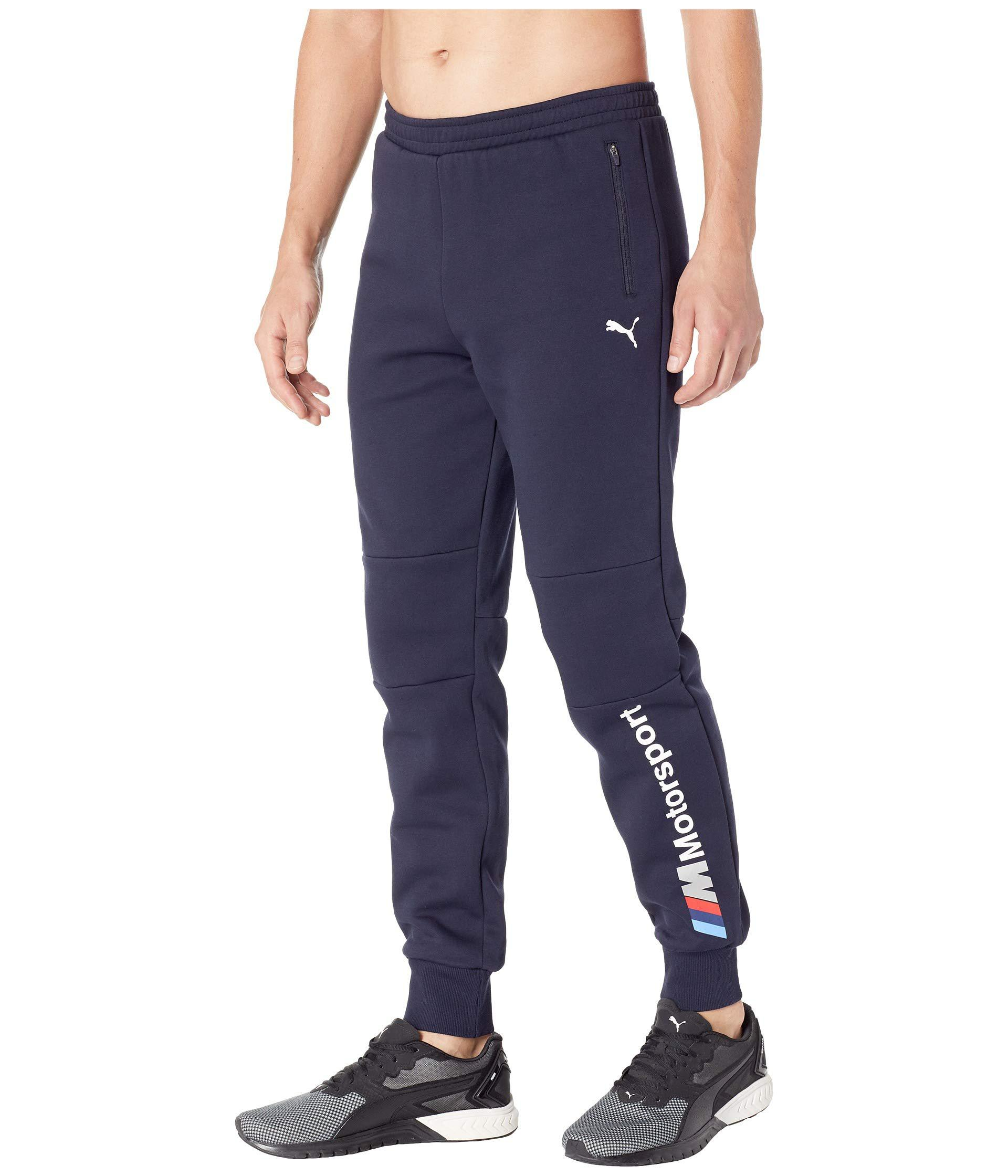 Lyst - PUMA Bmw Mms Sweatpants (anthracite) Men s Workout in Blue for Men 855560d35e95