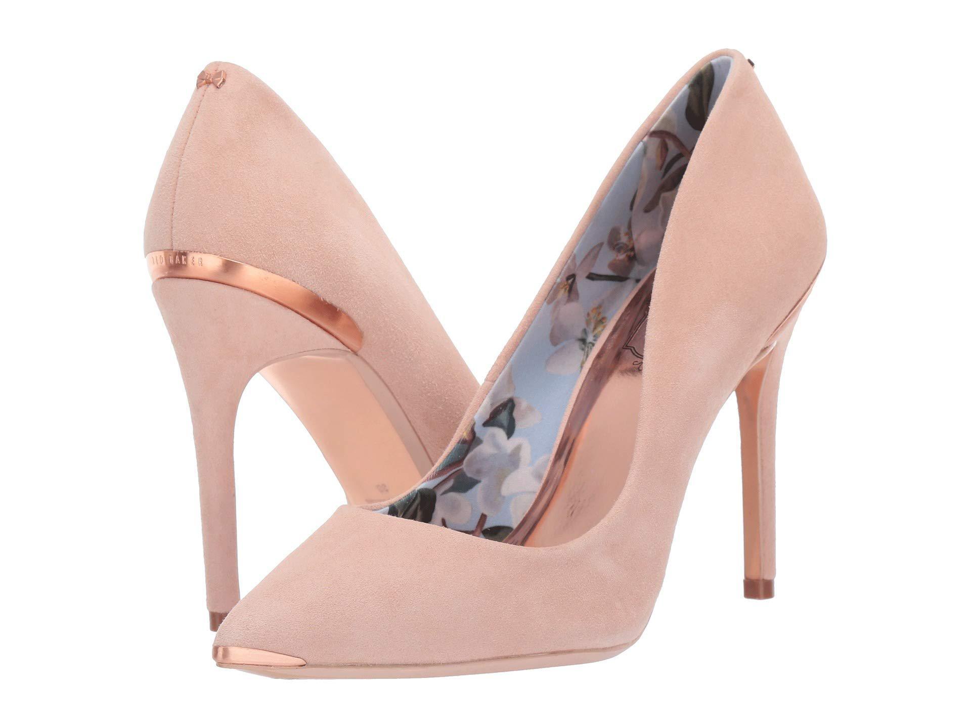ec68c541c5a Lyst - Ted Baker Kawaa (camel) Women s Shoes in Pink
