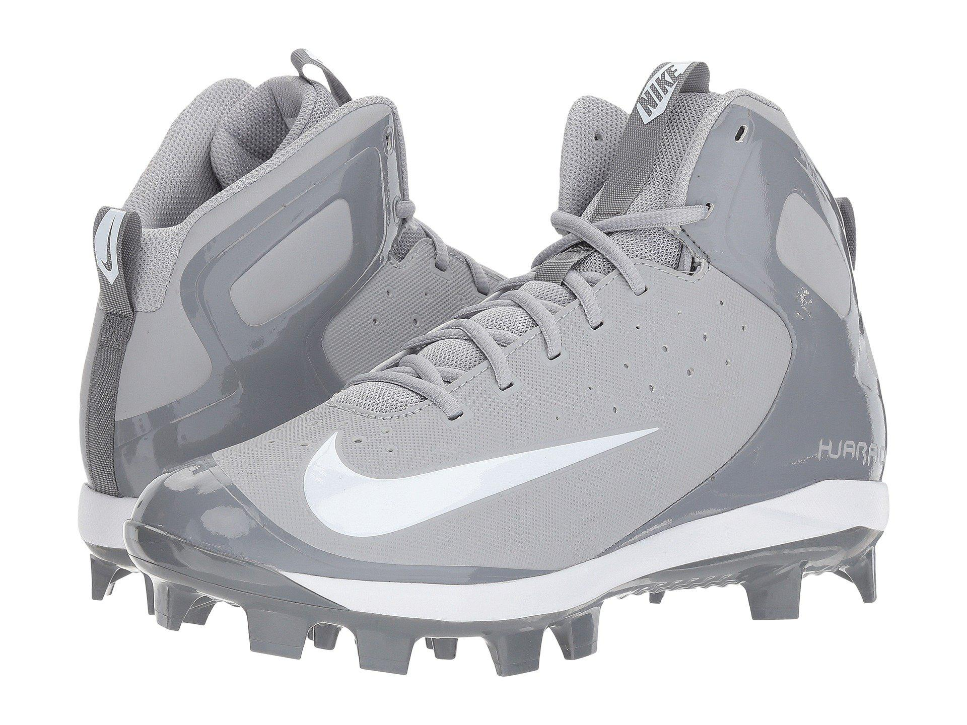 dad6fdf554d0 Lyst - Nike Alpha Huarache Pro Mid Mcs in Gray for Men
