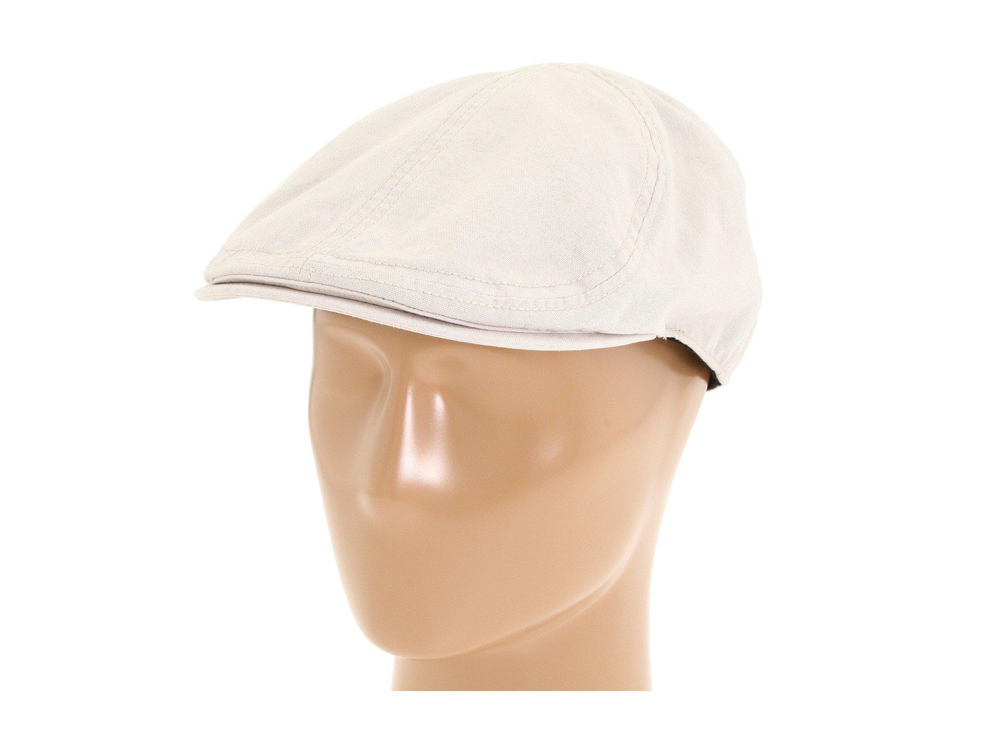 Lyst - Goorin Bros Ari (black) Caps in Natural for Men 38c703135e21