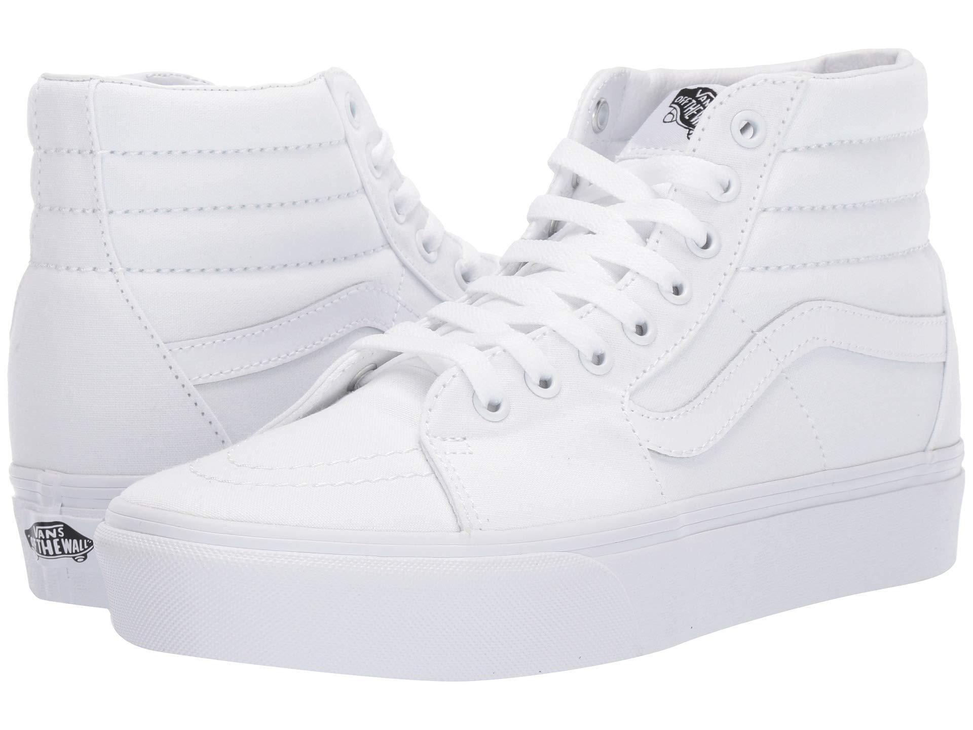 72aae254ff Vans. Men s Sk8-hi Platform 2.0 (checkerboard true White) Skate Shoes