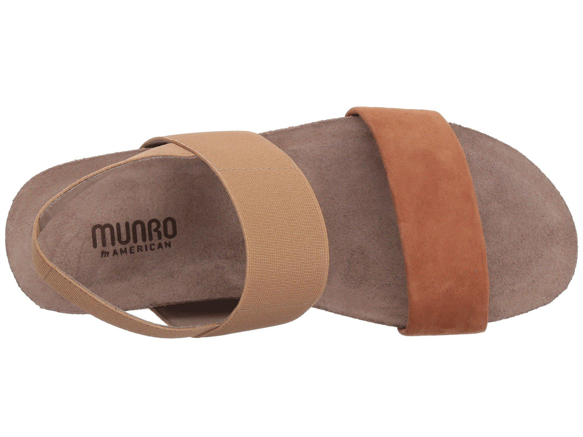 b545d57543ac Lyst - Munro Pisces (blue silver Metallic) Women s Sandals in Brown
