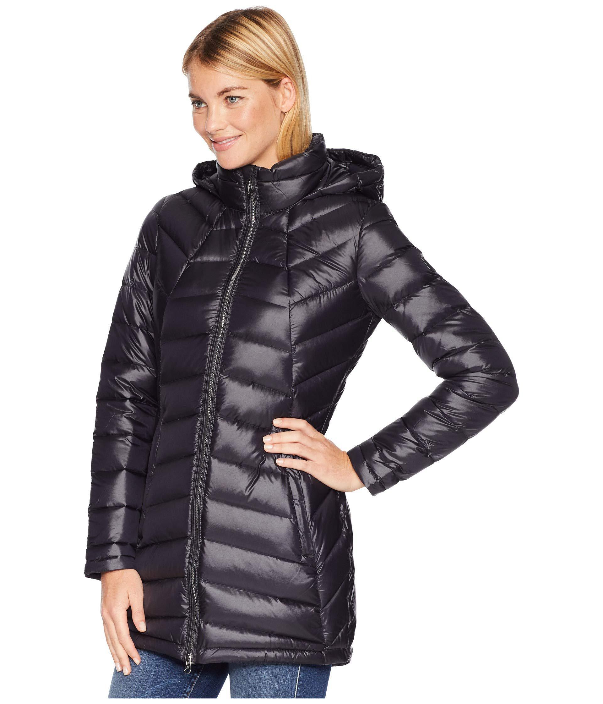 3b04bb258 Spyder Syrround Long Down Jacket (black/black) Coat